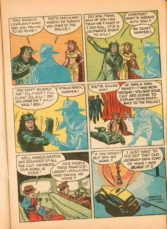Read online Shadow Comics comic -  Issue #11 - 15