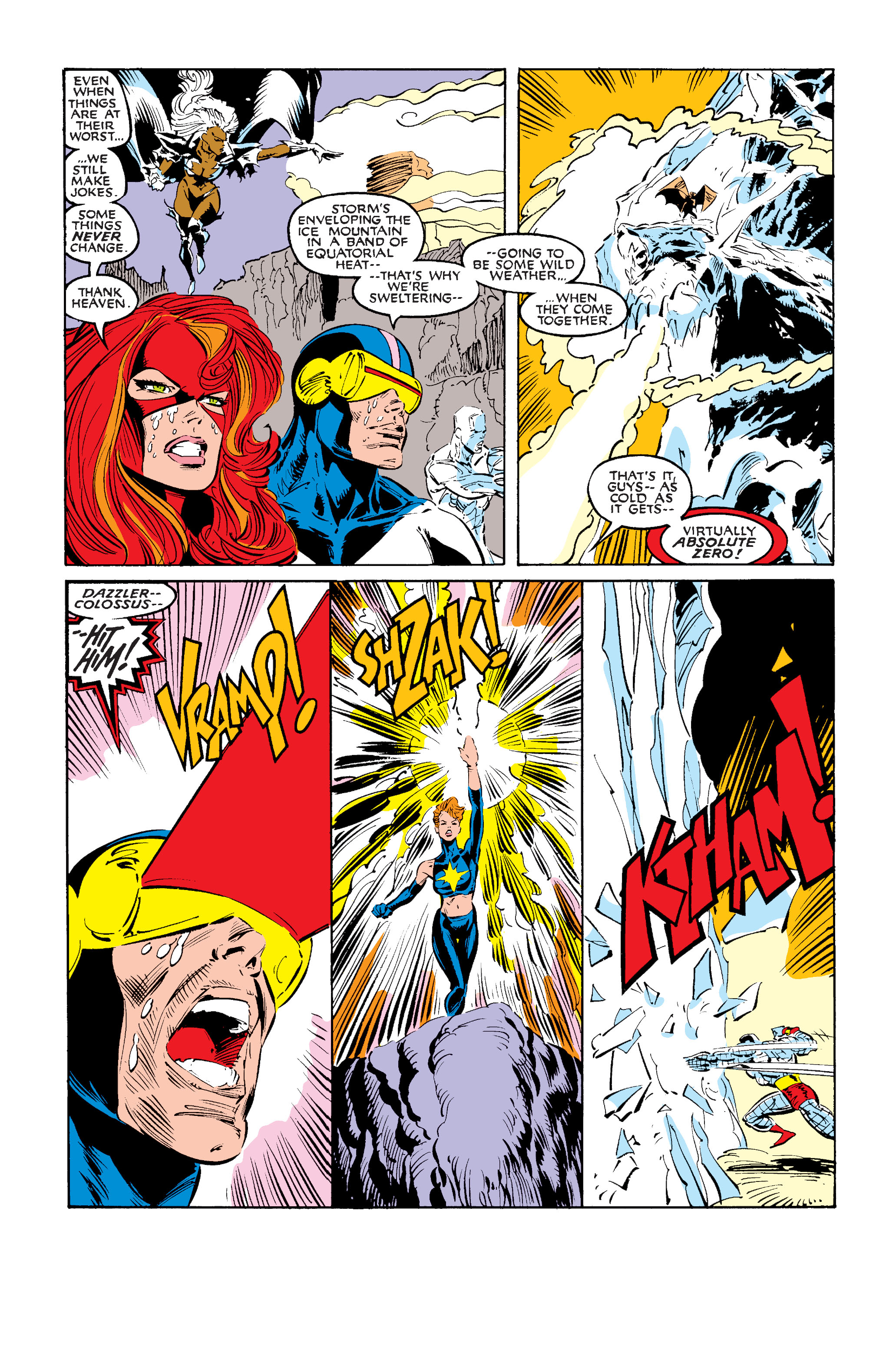 Read online Uncanny X-Men (1963) comic -  Issue #242 - 34