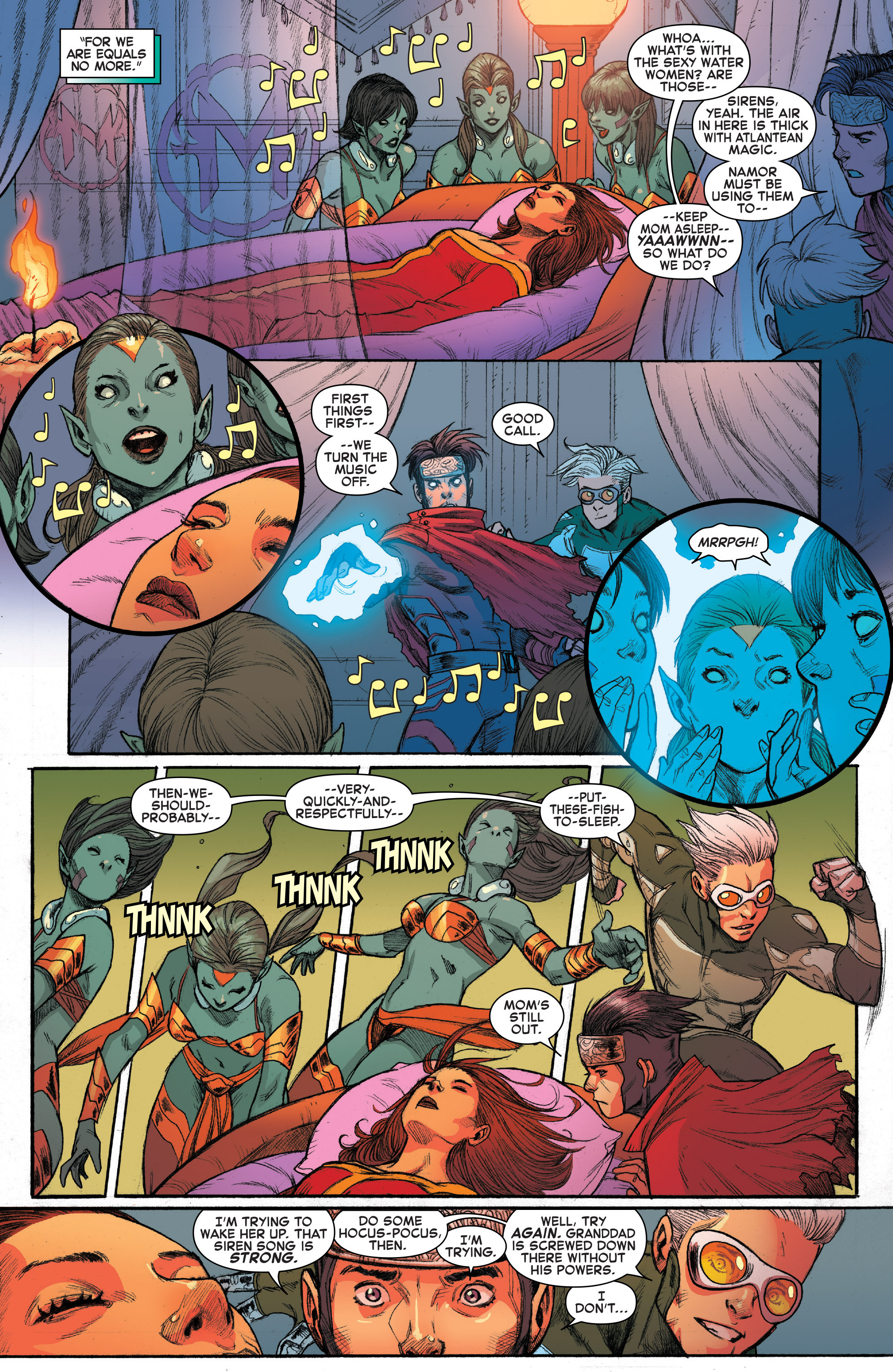 Read online House of M (2015) comic -  Issue #4 - 14