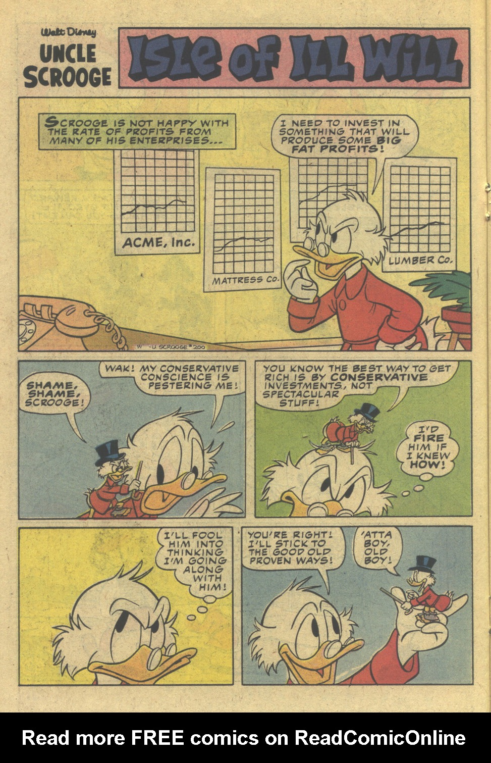 Read online Uncle Scrooge (1953) comic -  Issue #200 - 14