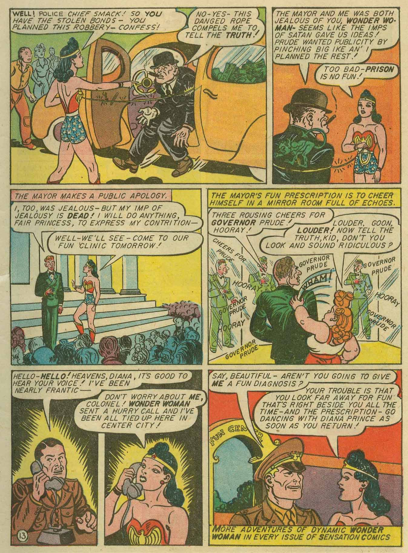 Read online Sensation (Mystery) Comics comic -  Issue #28 - 16