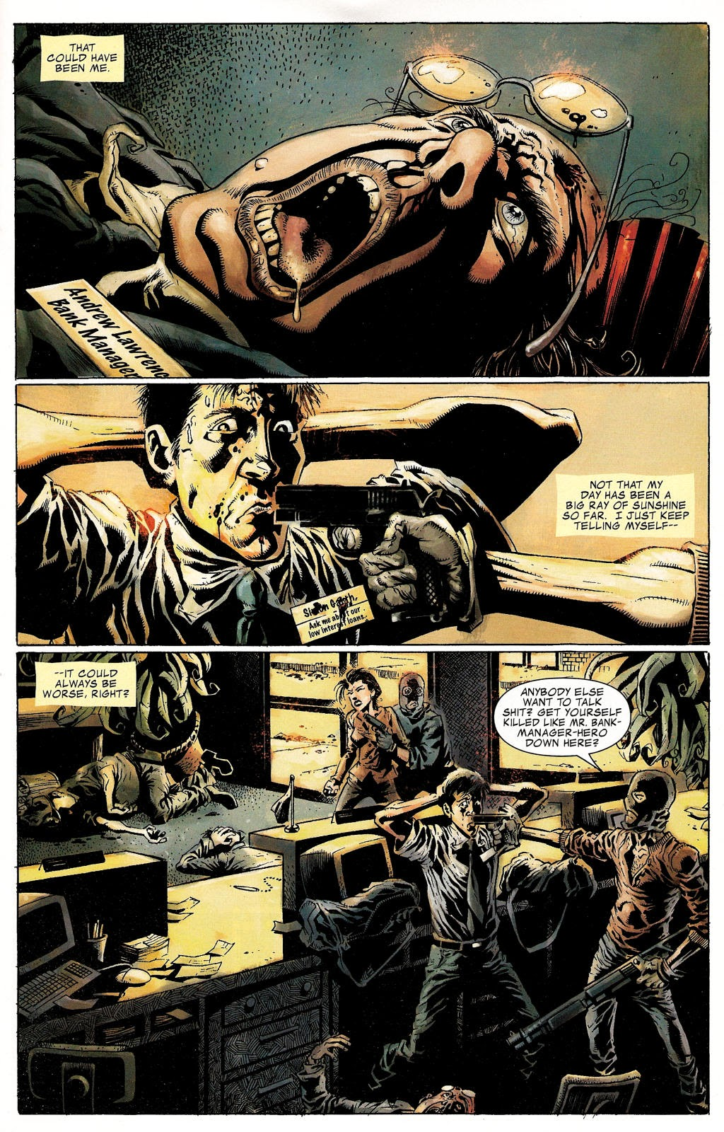 Read online Zombie (2006) comic -  Issue #1 - 2