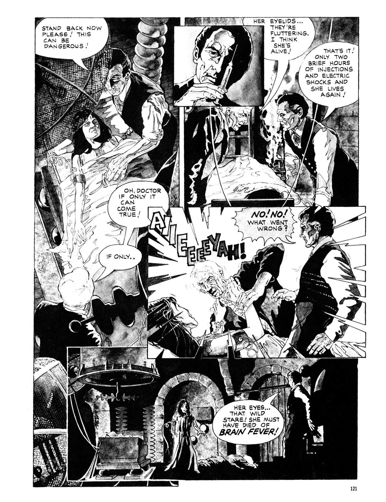 Read online Eerie Archives comic -  Issue # TPB 10 - 122