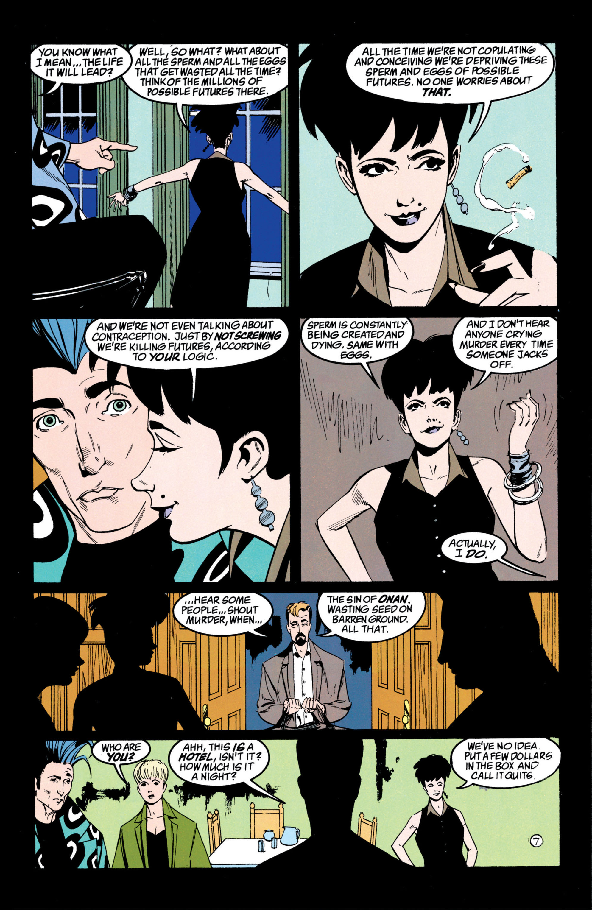 Read online Shade, the Changing Man comic -  Issue #42 - 8