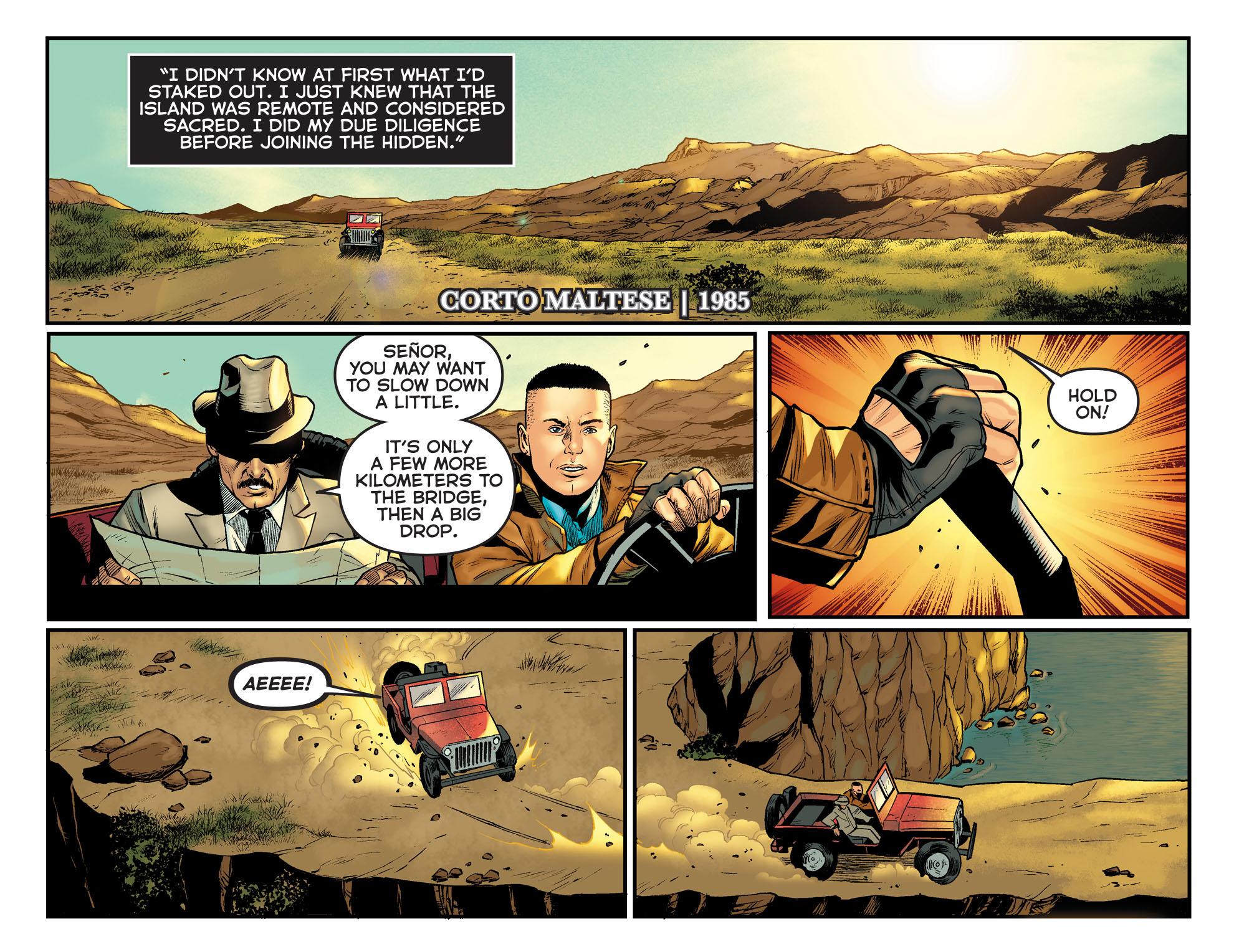 Read online Arrow: The Dark Archer comic -  Issue #11 - 13