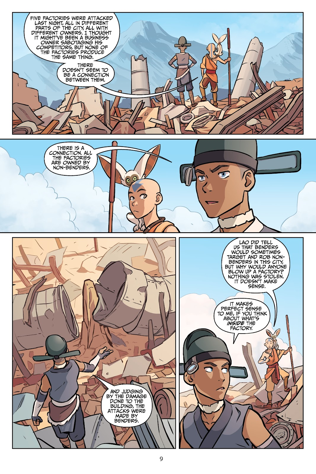 Read online Nickelodeon Avatar: The Last Airbender - Imbalance comic -  Issue # TPB 2 - 10