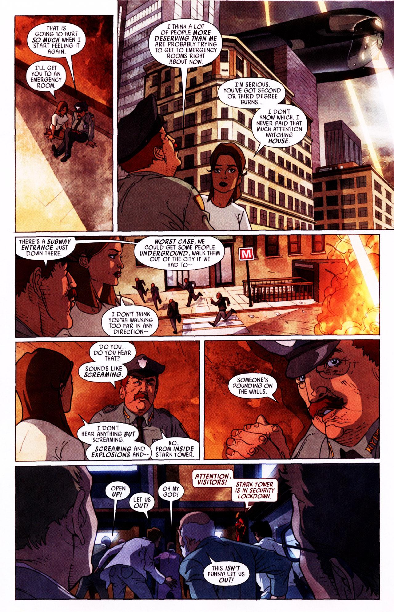 Read online Secret Invasion: Front Line comic -  Issue #2 - 12