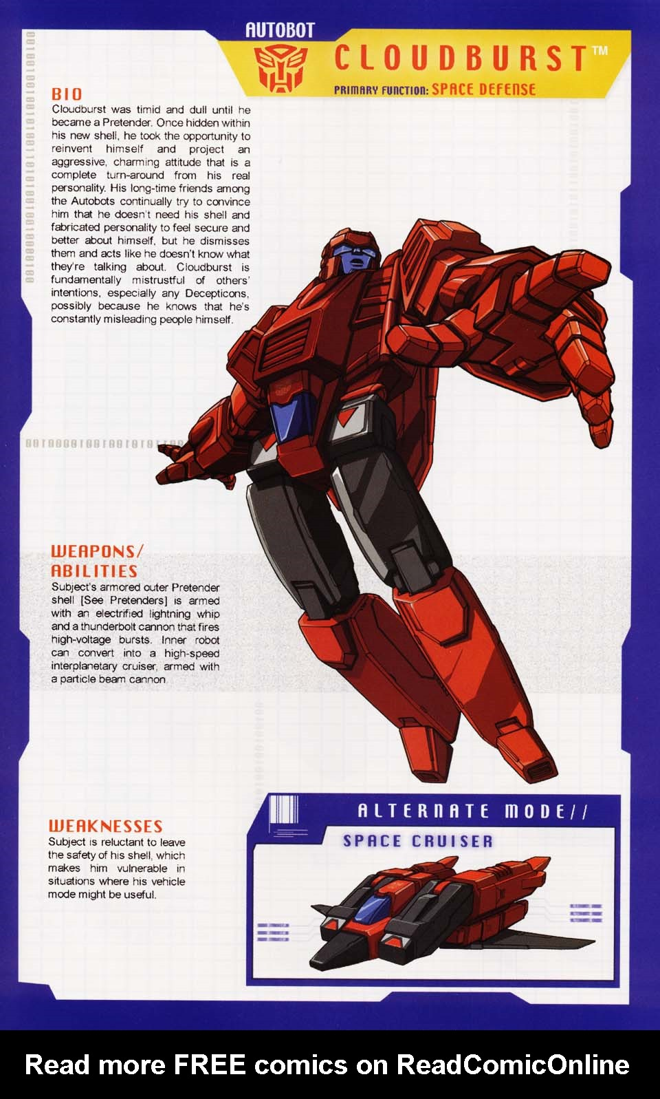 Read online Transformers: More than Meets the Eye comic -  Issue #1 - 59