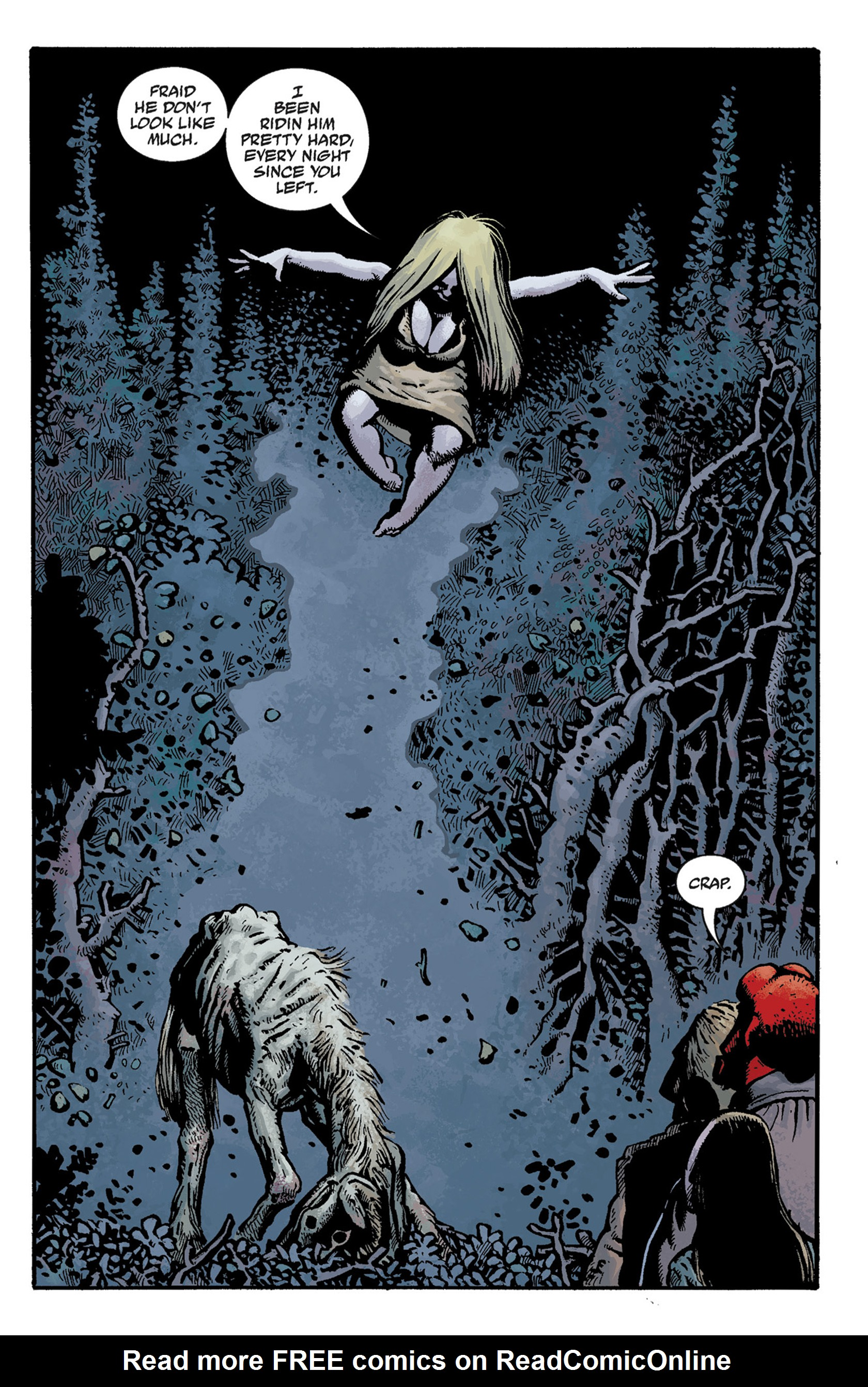 Read online Hellboy: The Crooked Man and Others comic -  Issue # TPB - 29