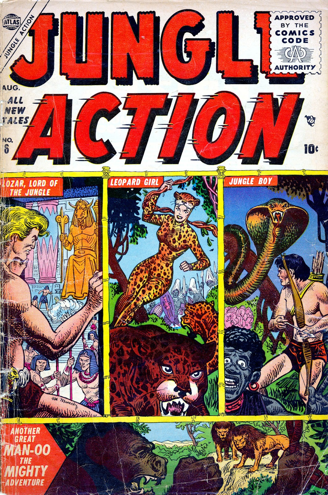Jungle Action (1954) issue 6 - Page 1