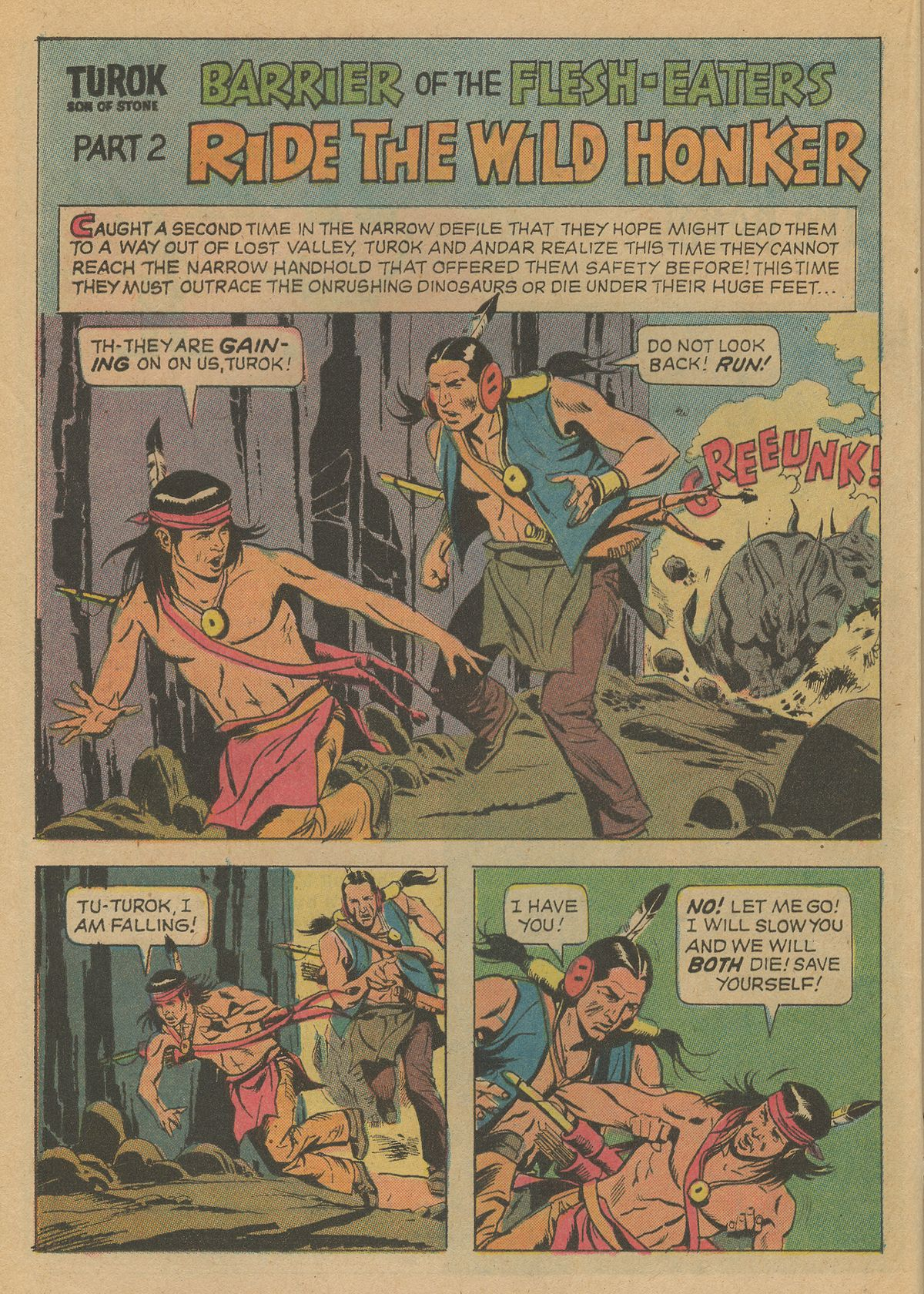 Read online Turok, Son of Stone comic -  Issue #79 - 20