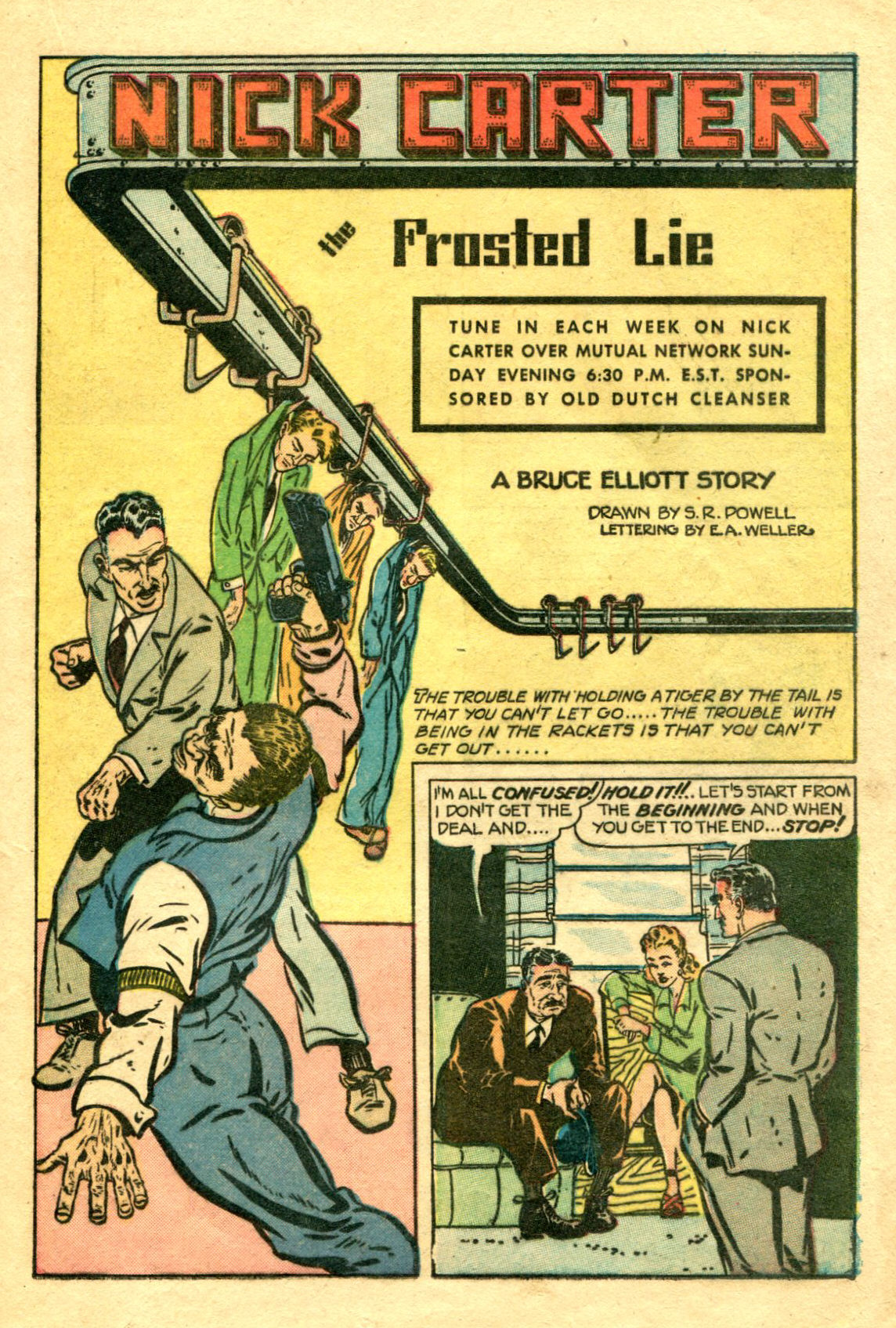 Read online Shadow Comics comic -  Issue #75 - 22