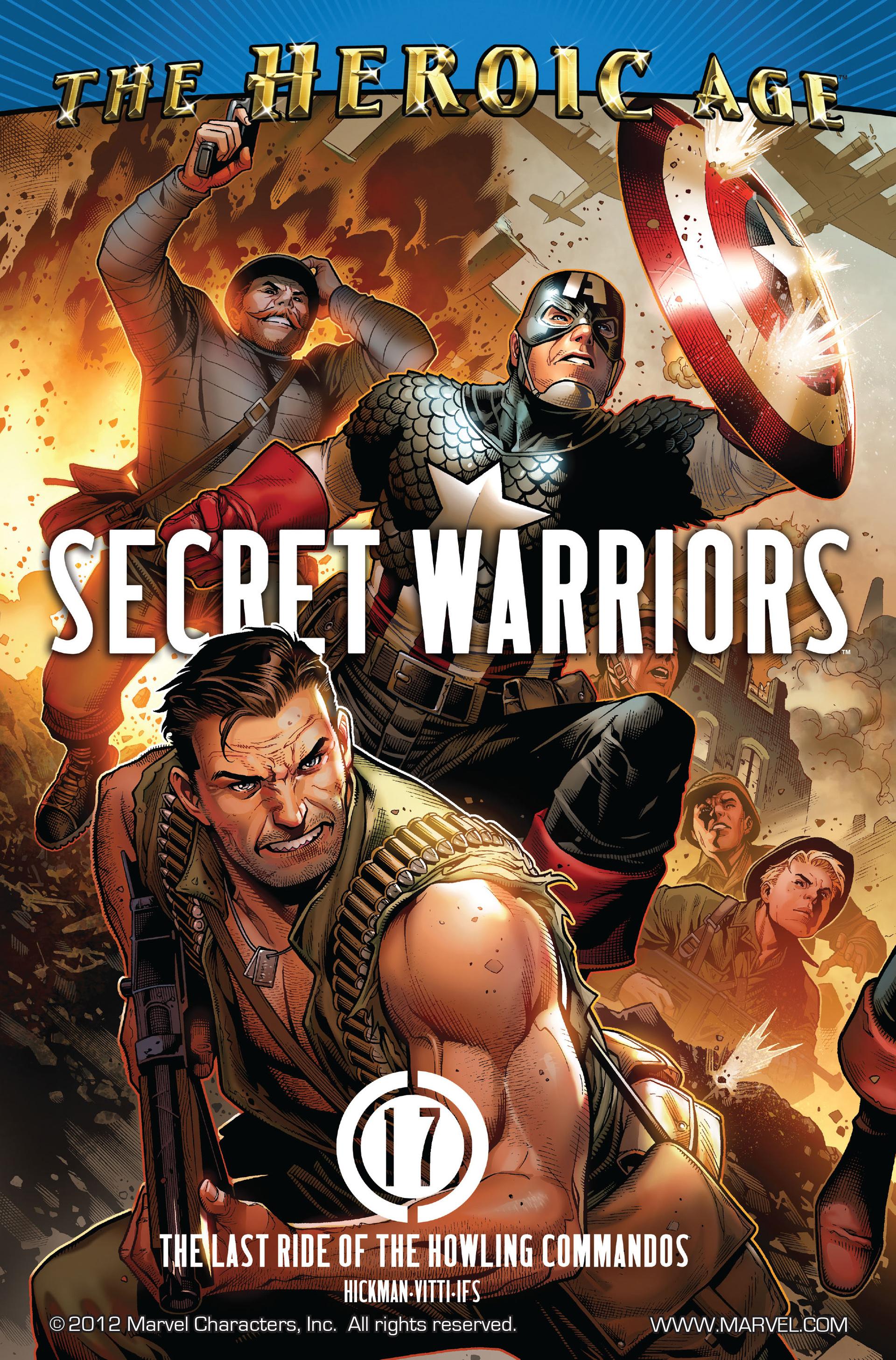Read online Secret Warriors comic -  Issue #17 - 2