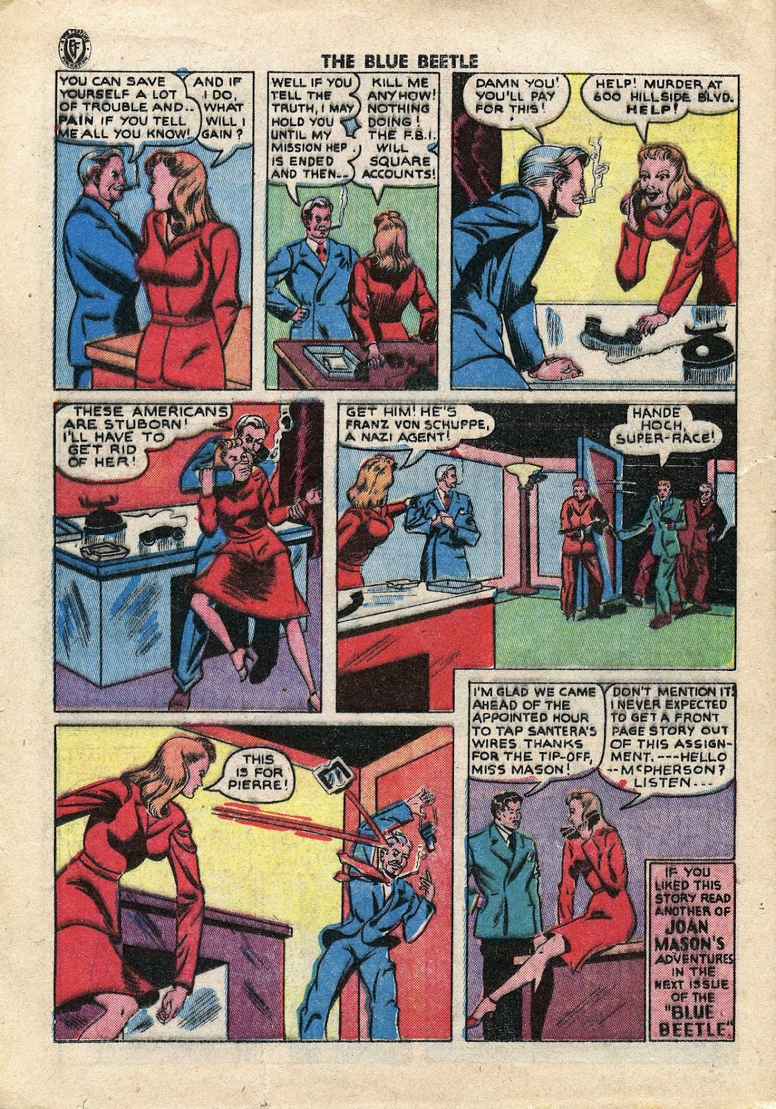 The Blue Beetle issue 34 - Page 27