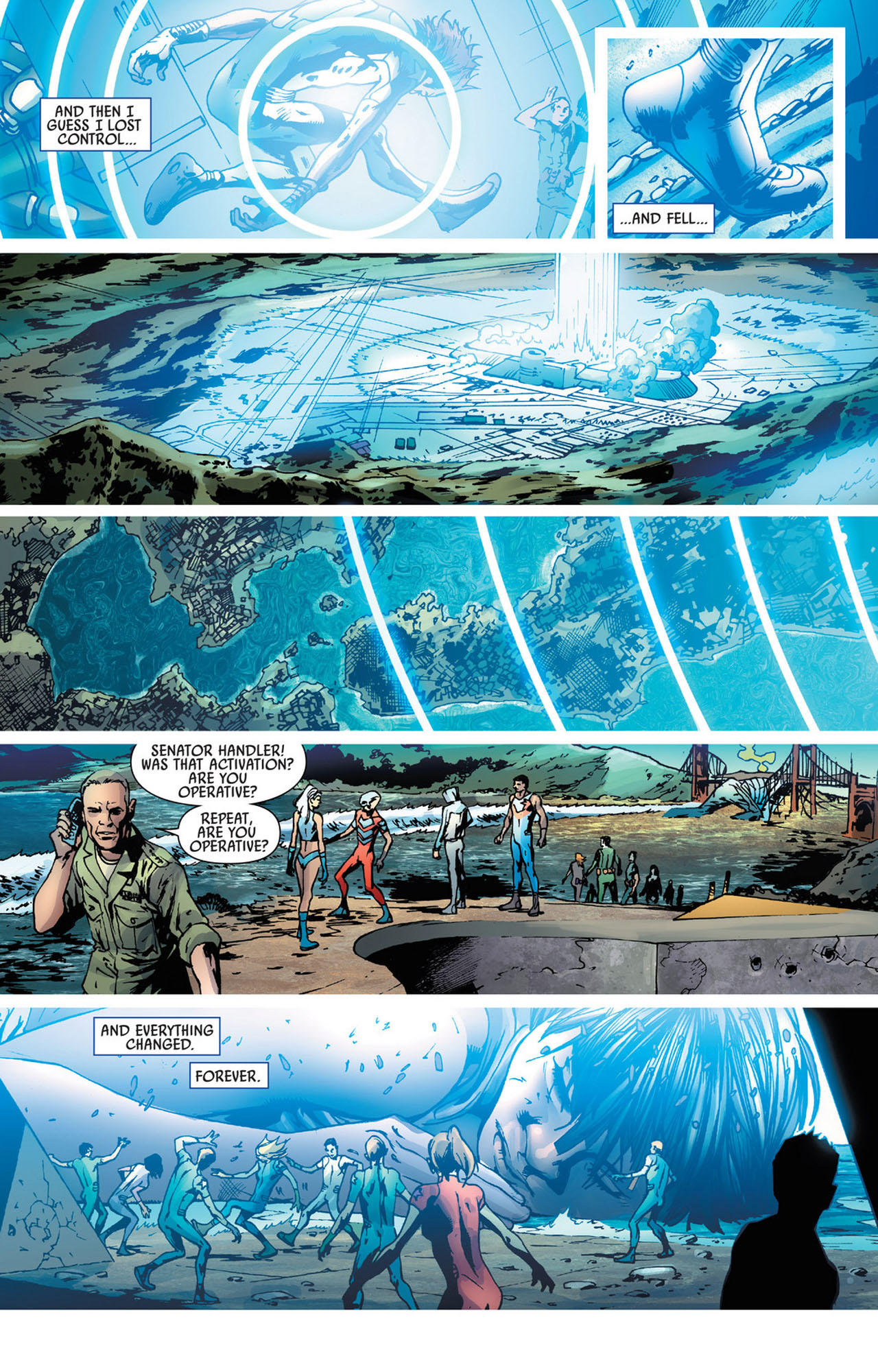 Read online America's Got Powers comic -  Issue #5 - 23