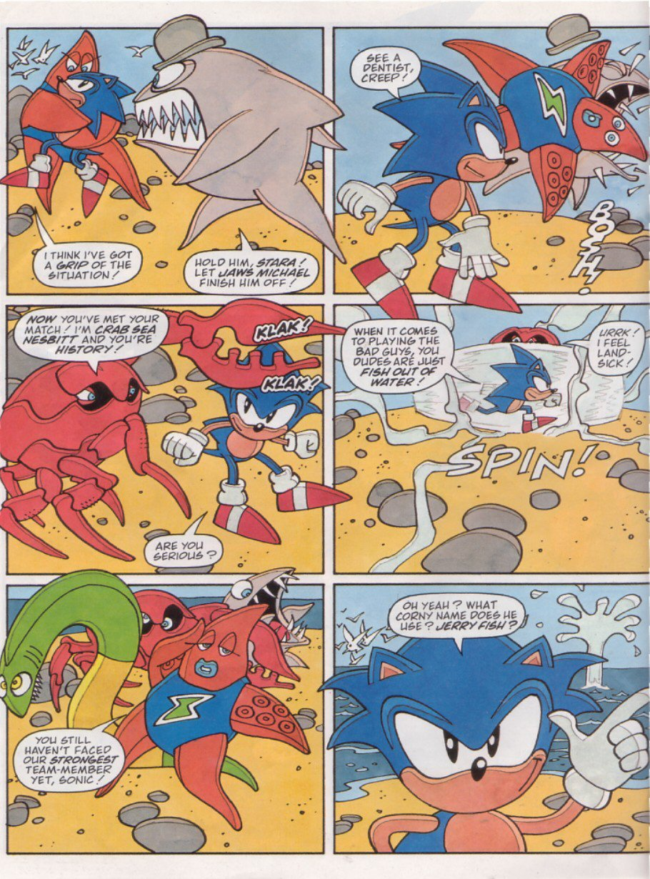 Read online Sonic the Comic comic -  Issue #126 - 26