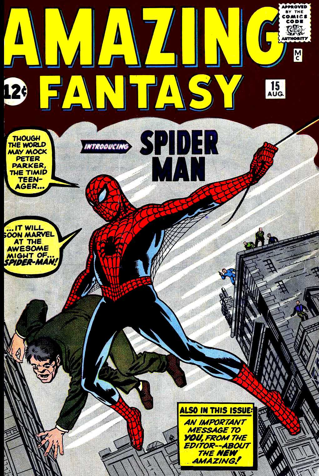 Read online Amazing Fantasy (1962) comic -  Issue #15 - 1
