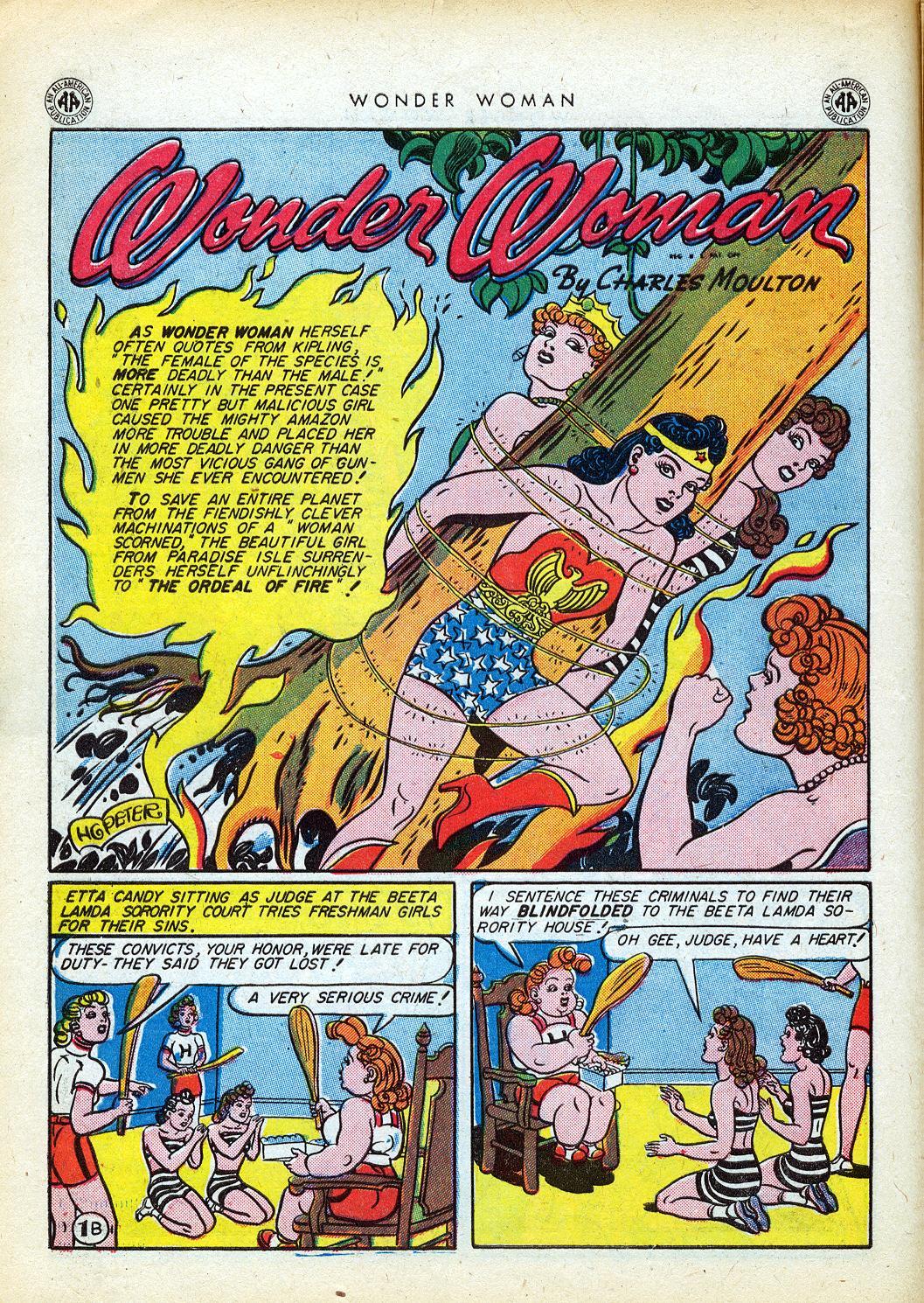 Read online Wonder Woman (1942) comic -  Issue #12 - 14