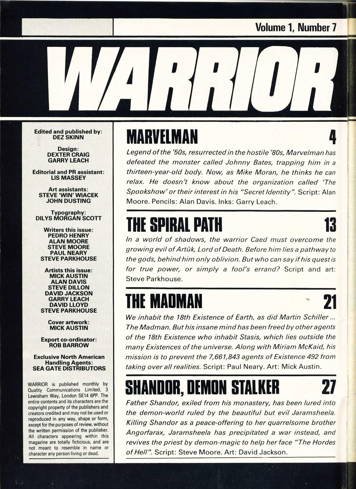 Warrior Issue #7 #8 - English 2