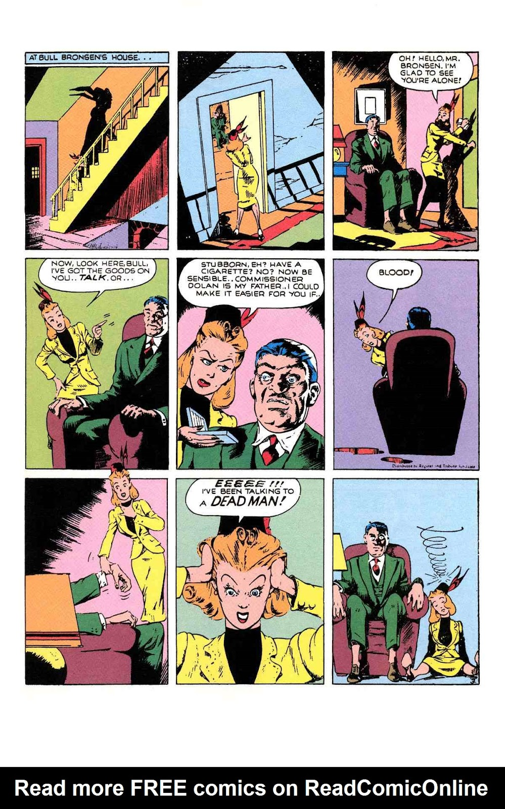 Read online Will Eisner's The Spirit Archives comic -  Issue # TPB 1 (Part 2) - 58