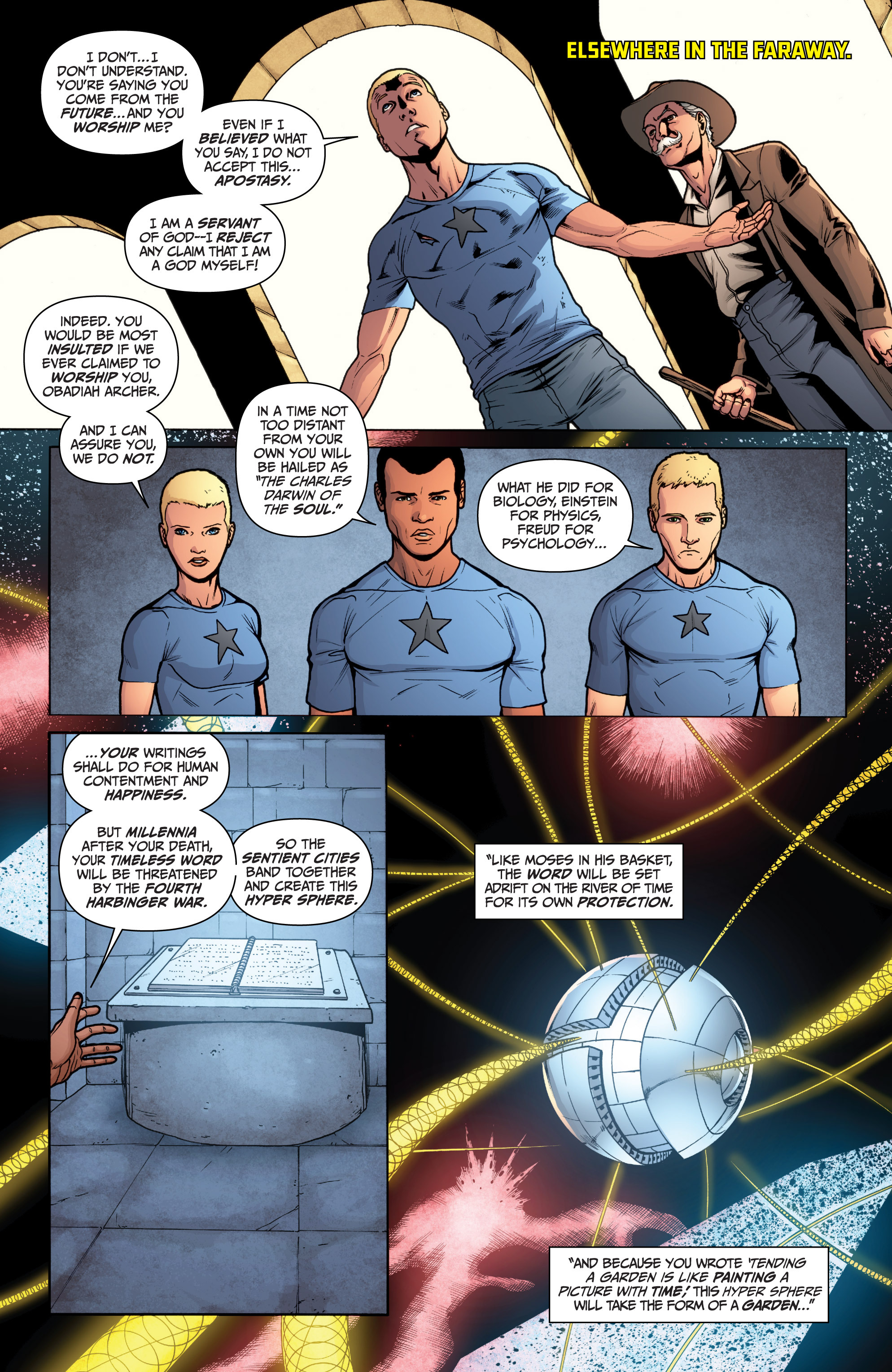 Read online Archer and Armstrong comic -  Issue #12 - 8