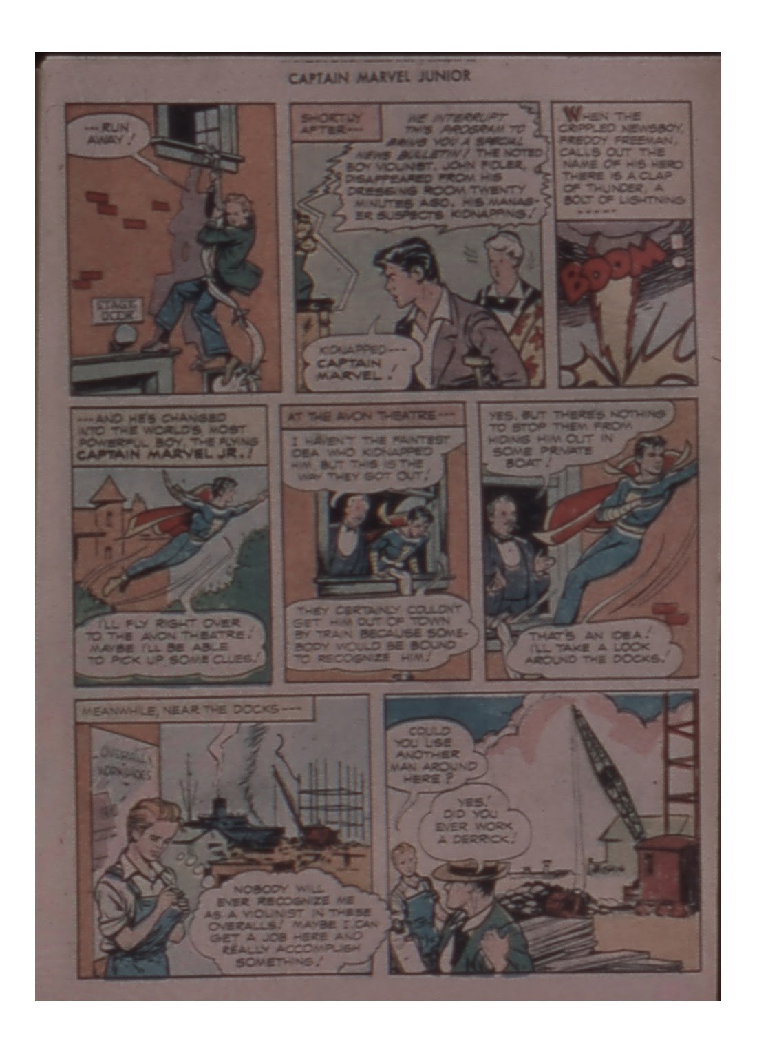 Captain Marvel, Jr. issue 59 - Page 17