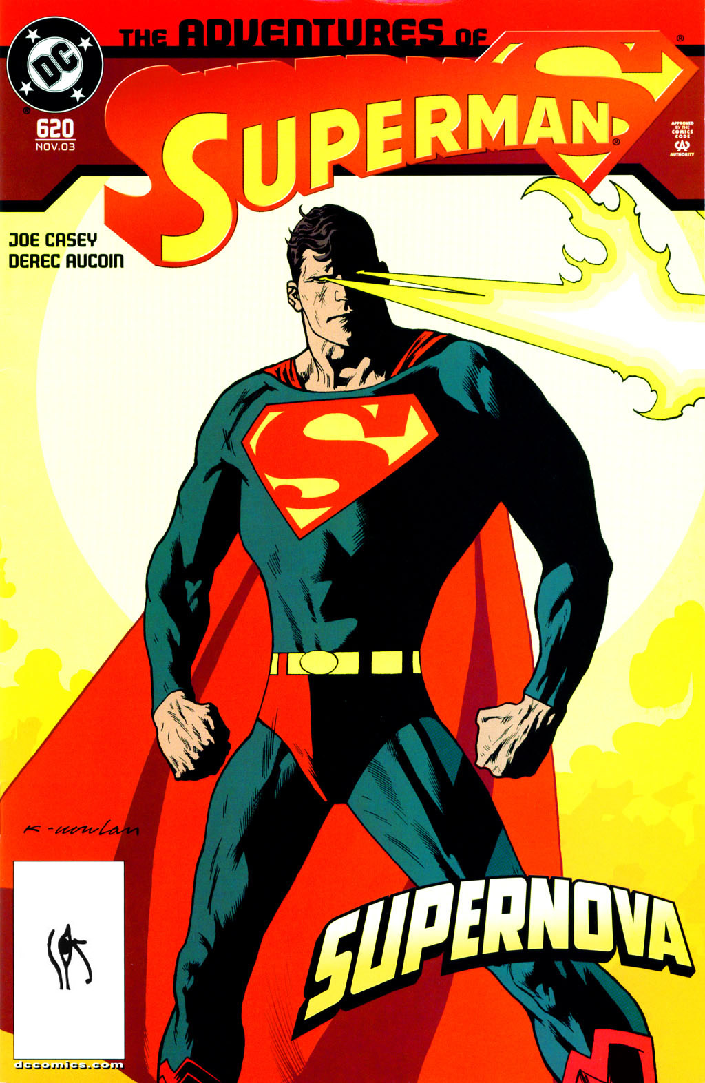 Read online Adventures of Superman (1987) comic -  Issue #620 - 1
