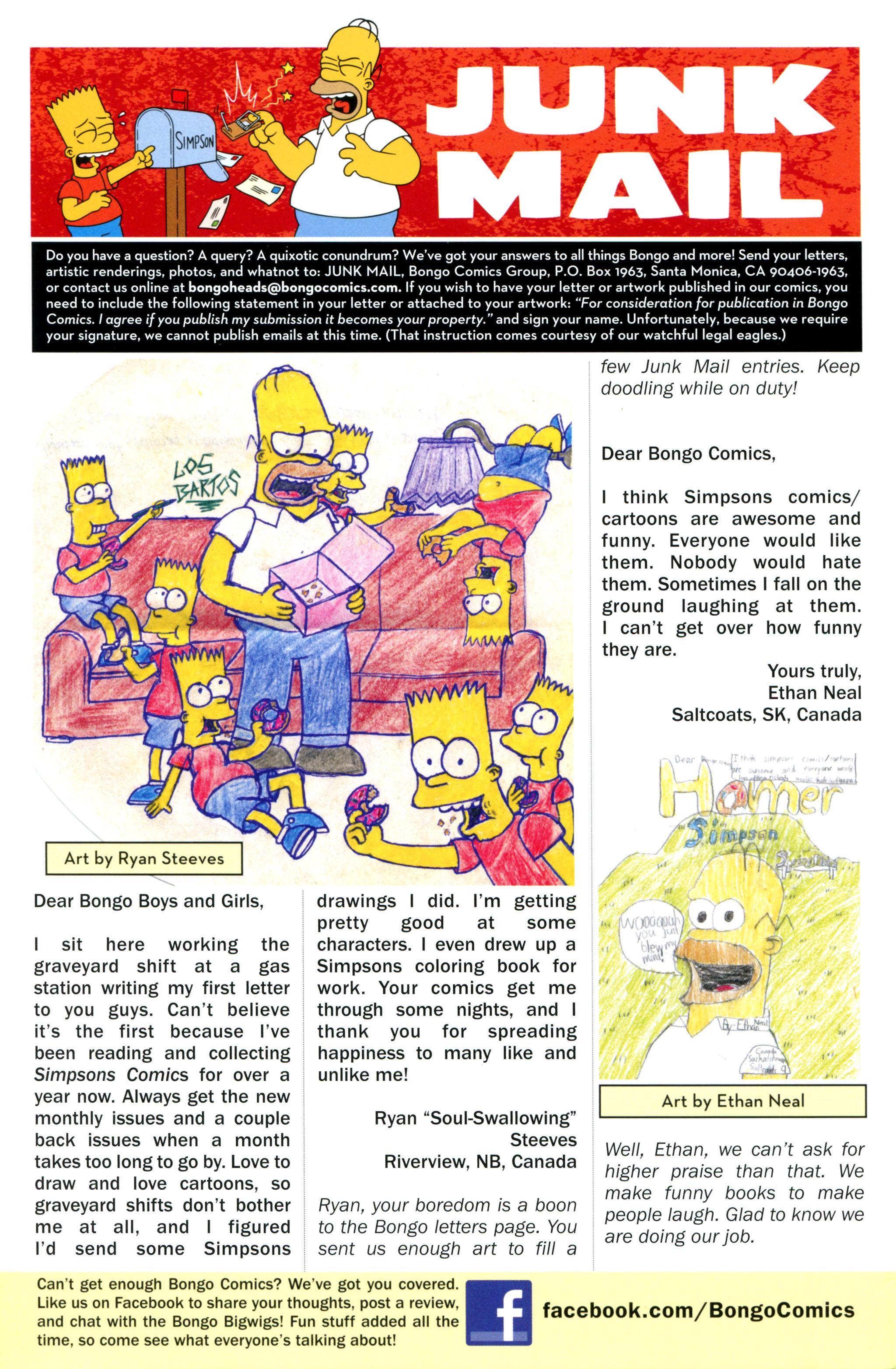 Read online Simpsons Comics comic -  Issue #217 - 28