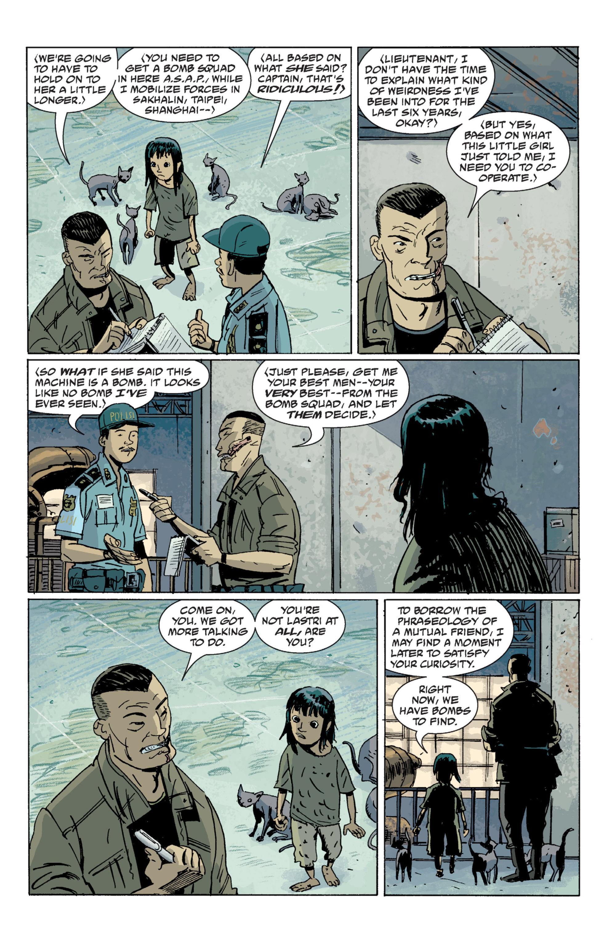 Read online B.P.R.D. (2003) comic -  Issue # TPB 7 - 105