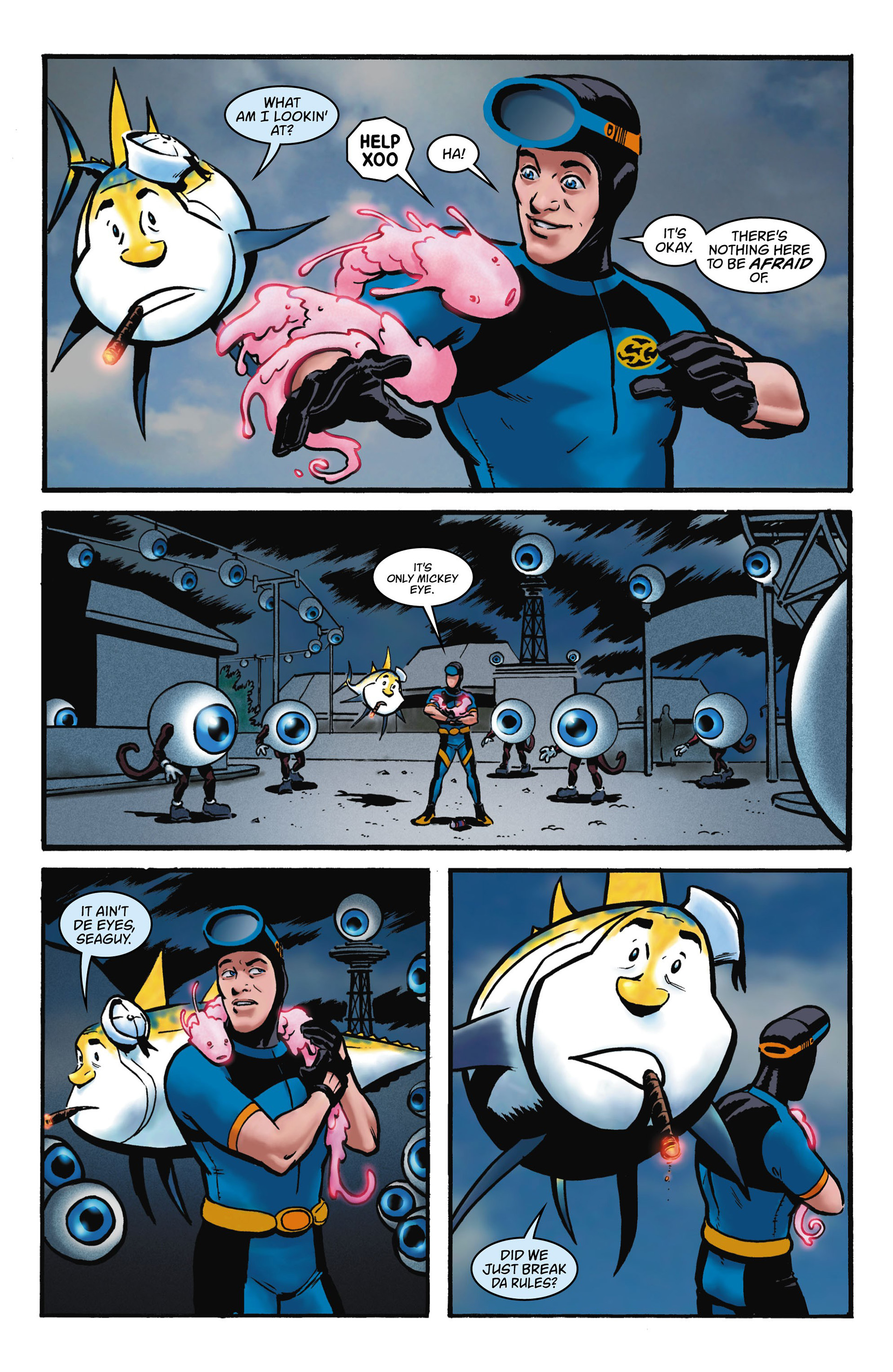 Read online Seaguy comic -  Issue #1 - 26