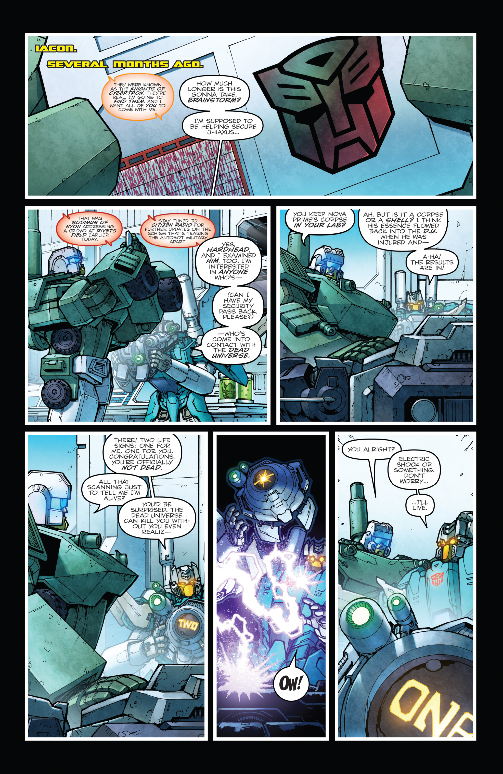 Read online The Transformers: Dark Cybertron Finale comic -  Issue # Full - 102