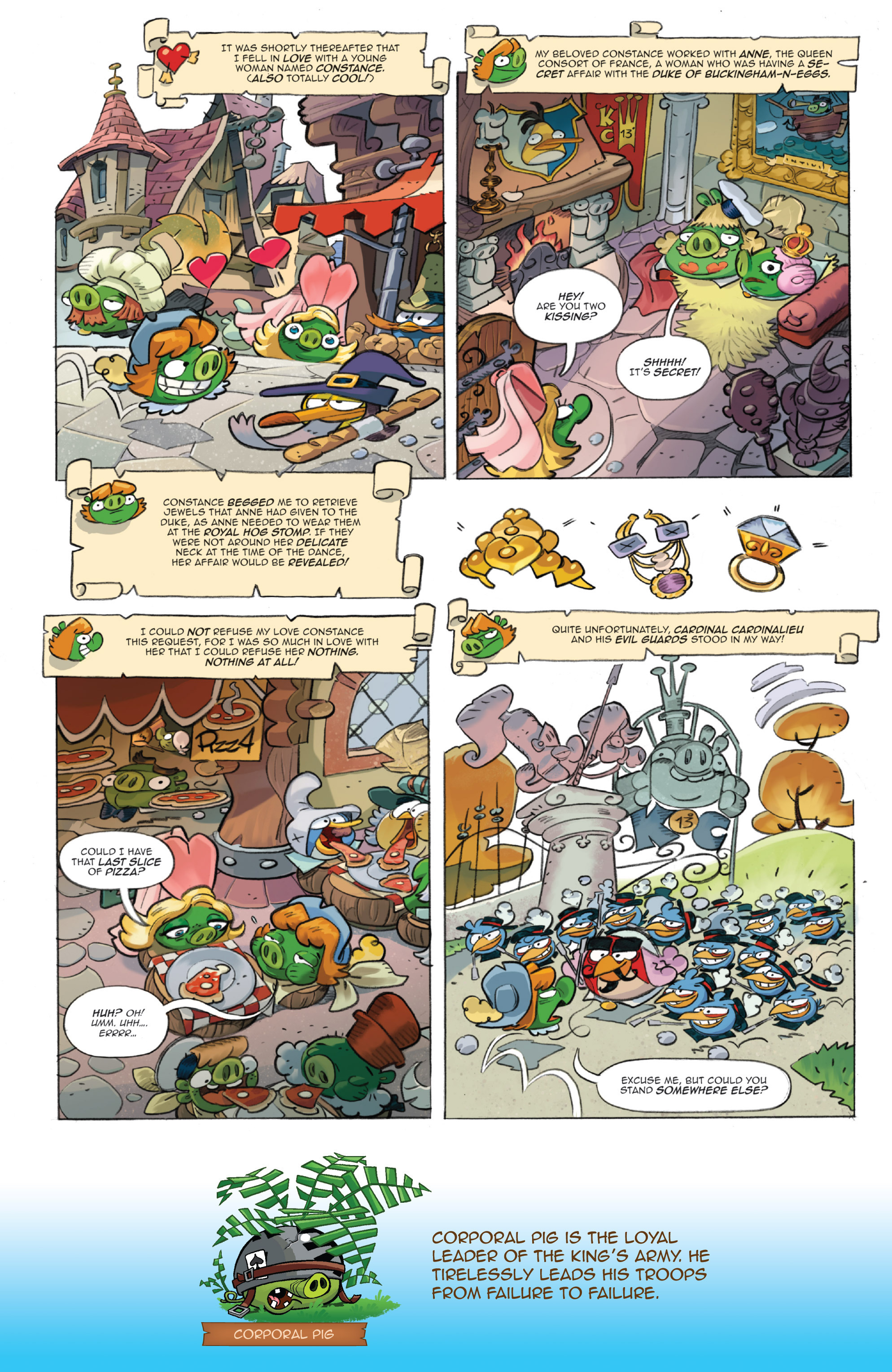 Read online Angry Birds Comics (2016) comic -  Issue #1 - 19