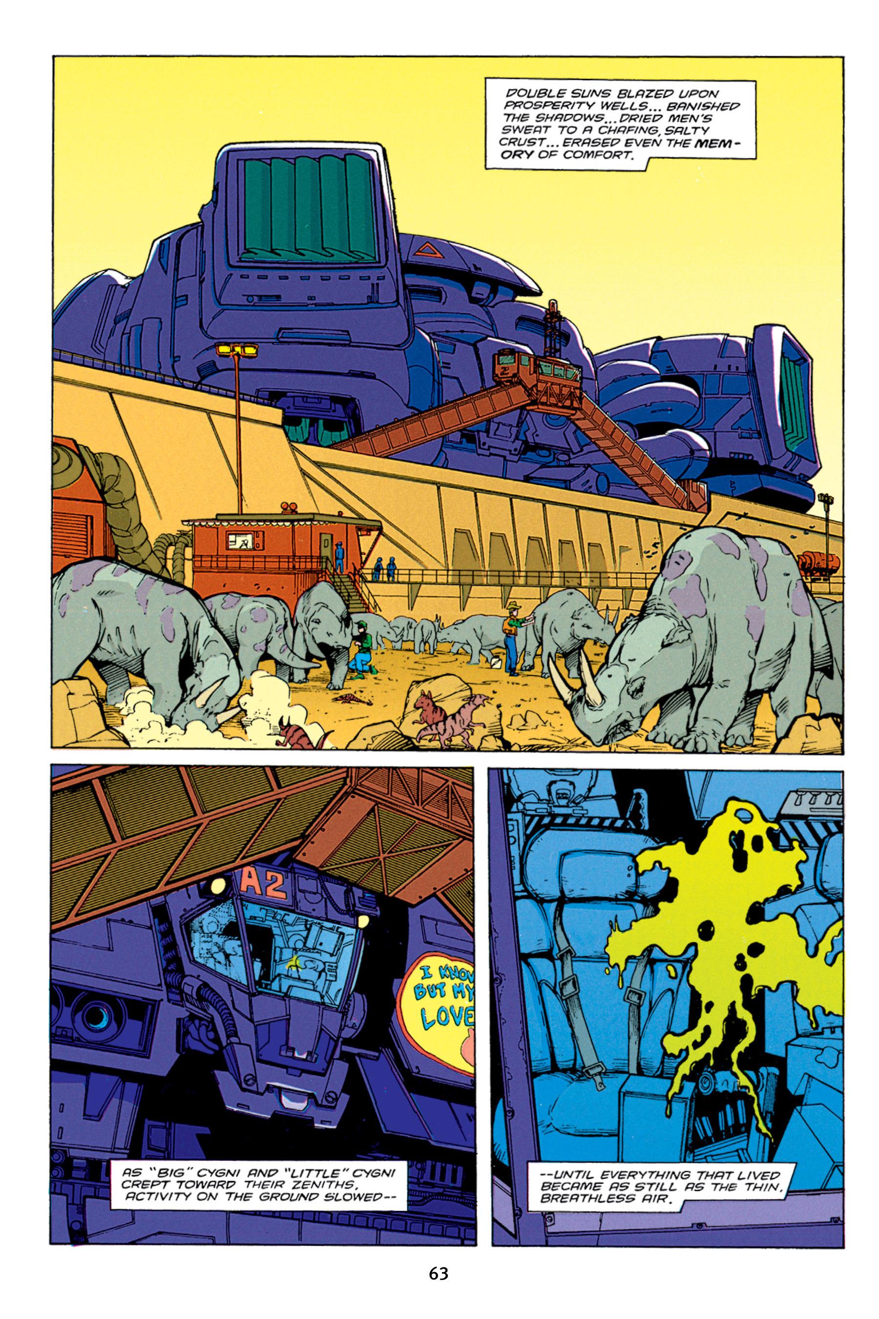 Read online Aliens vs. Predator Omnibus comic -  Issue # _TPB 1 Part 1 - 63
