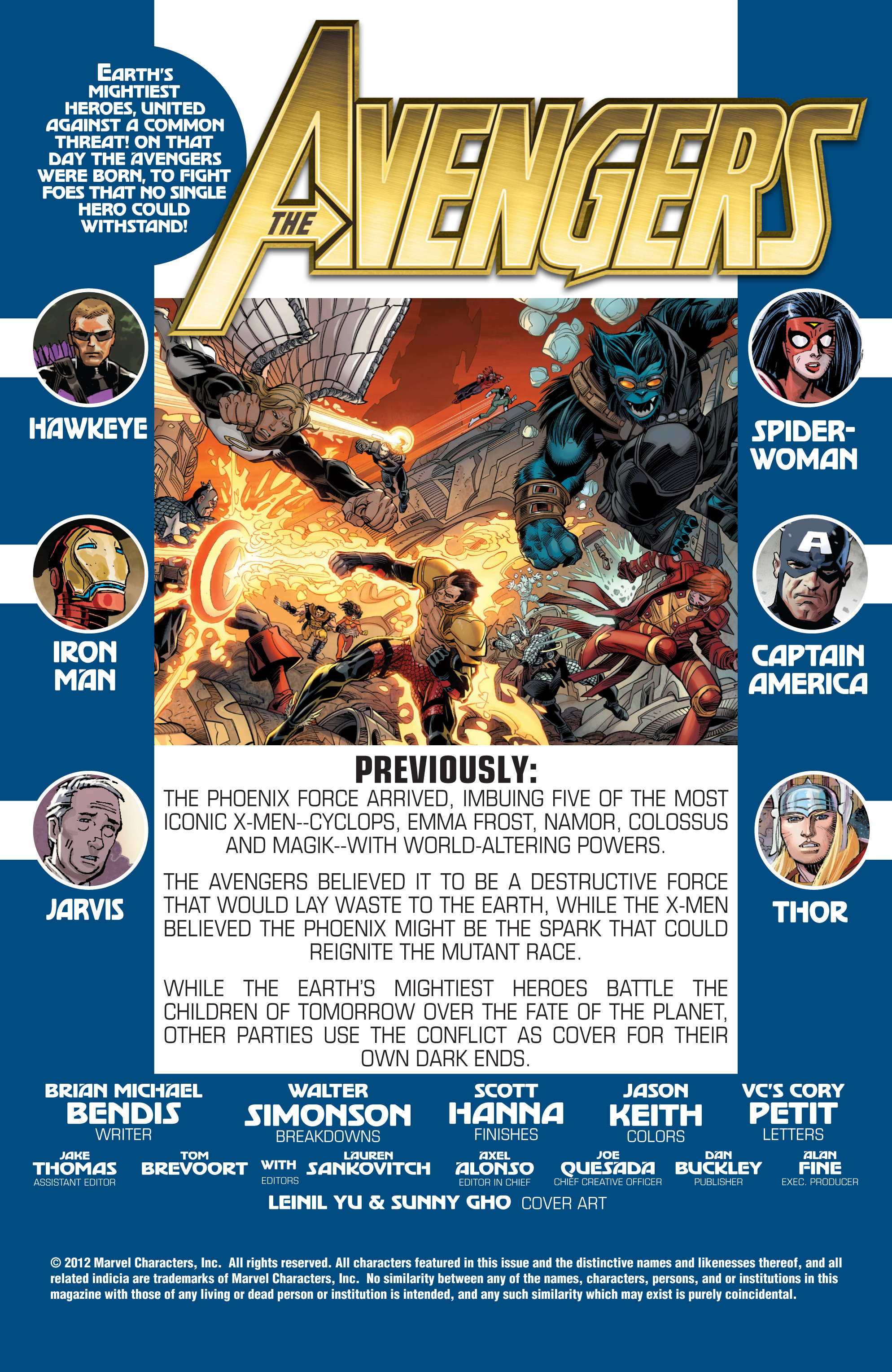 Read online Avengers (2010) comic -  Issue #30 - 2