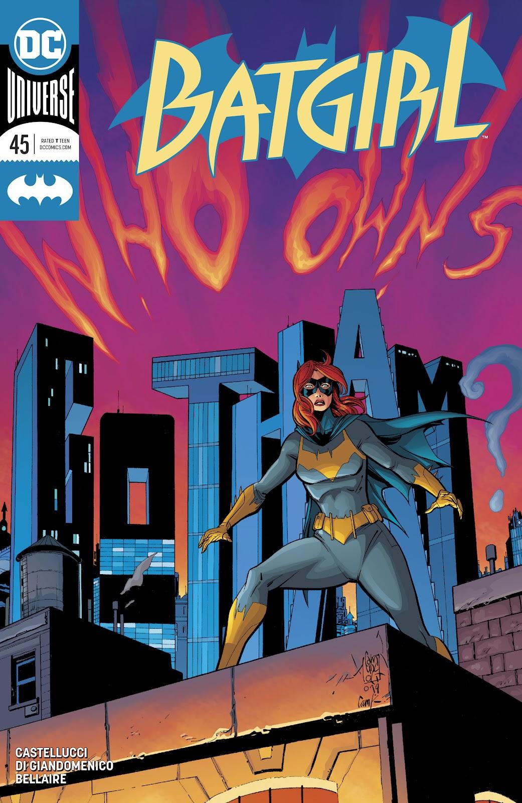 Batgirl (2016) 45 Page 1