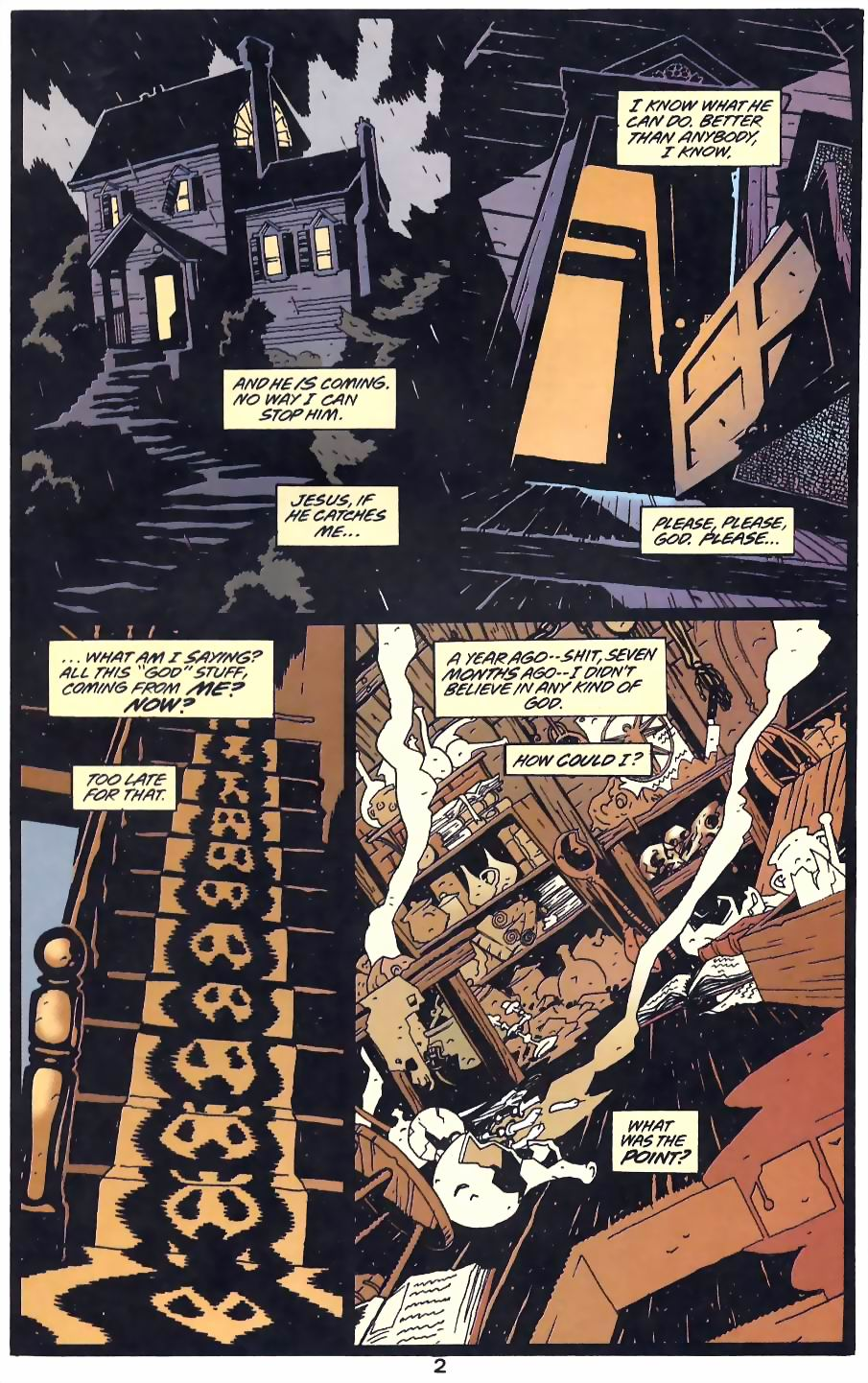 Read online Flinch comic -  Issue #12 - 14