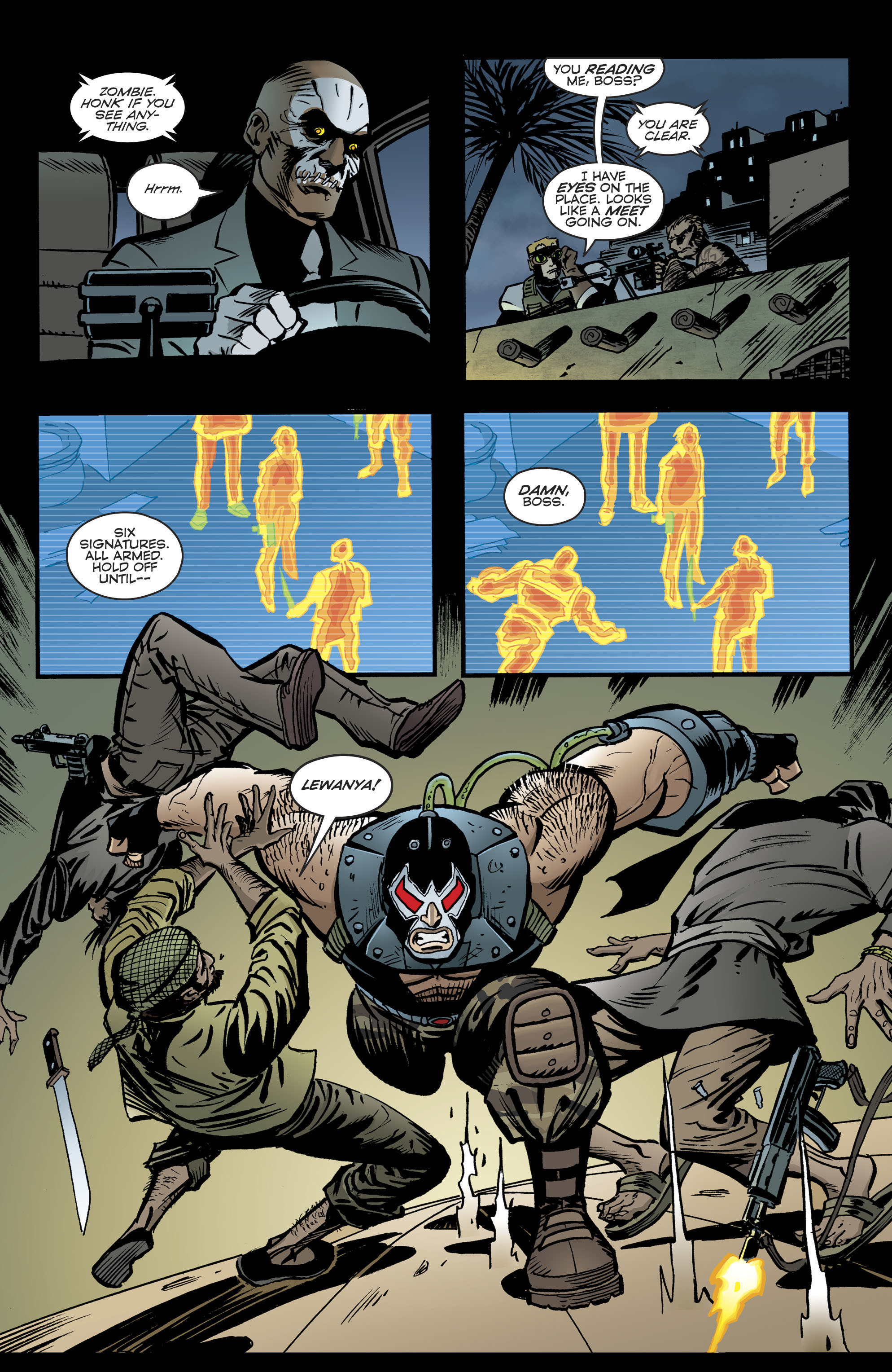 Read online Bane: Conquest comic -  Issue #1 - 20
