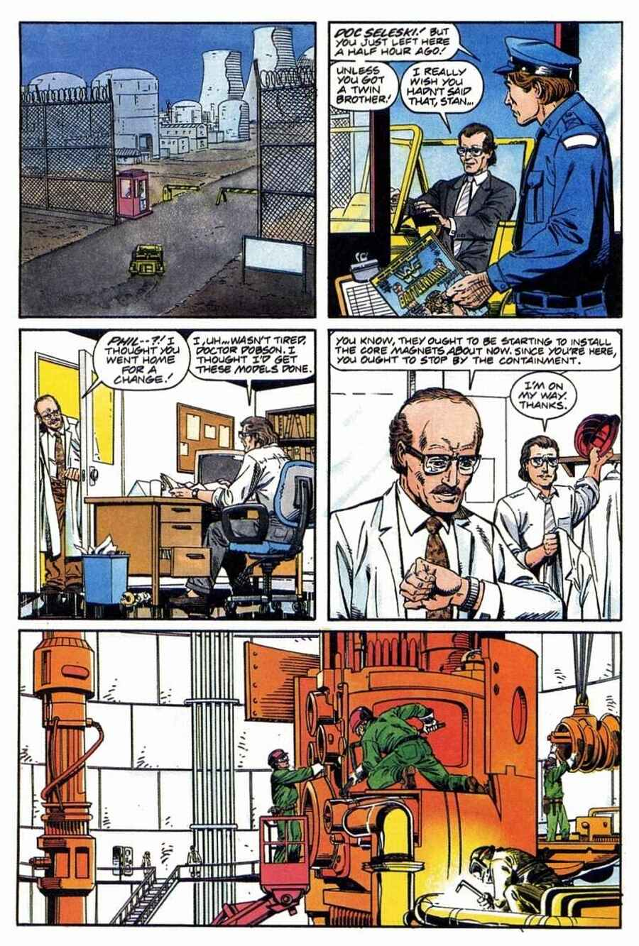 Read online Solar, Man of the Atom comic -  Issue #1 - 10