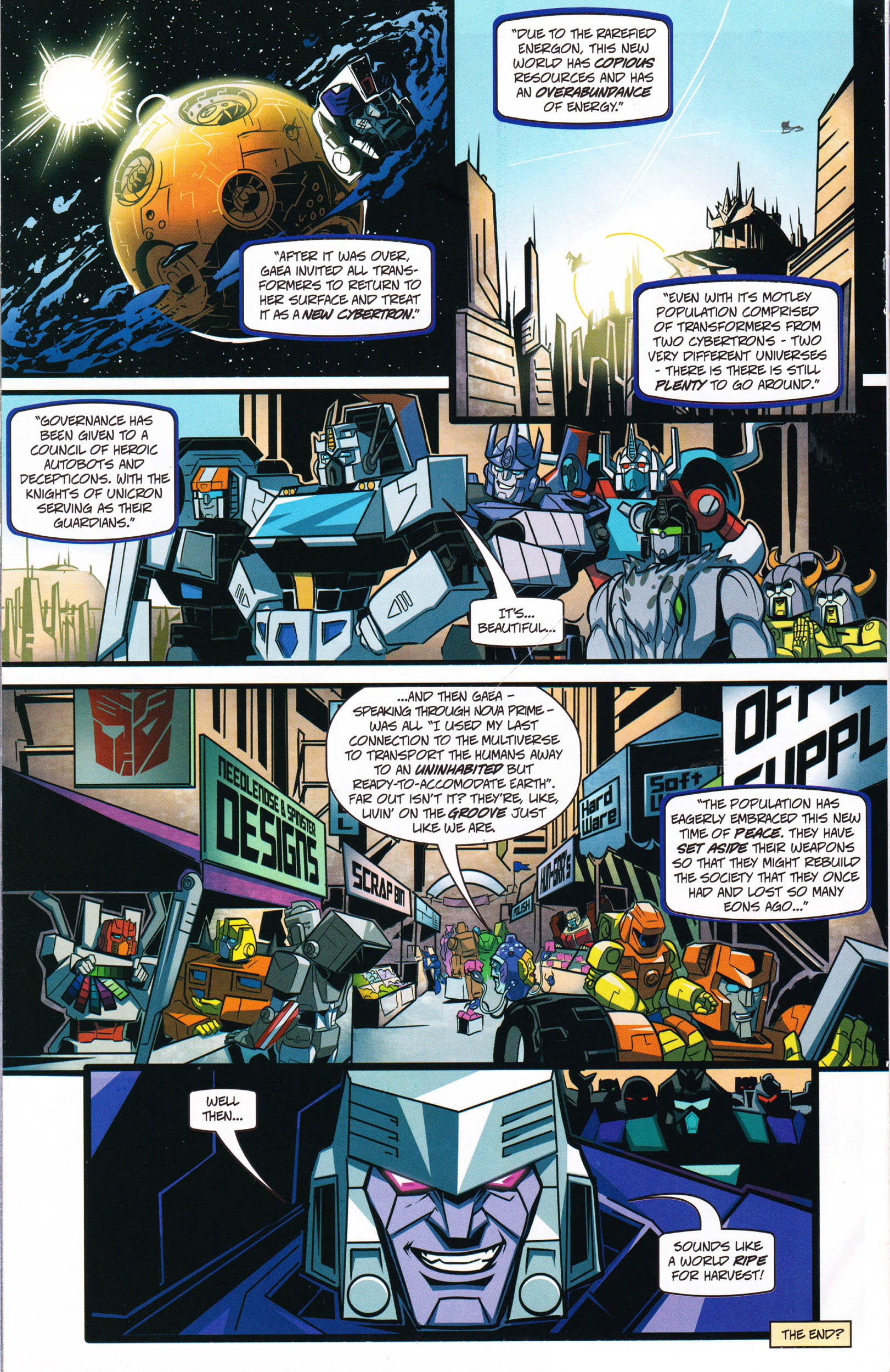 Read online Transformers: Collectors' Club comic -  Issue #66 - 14