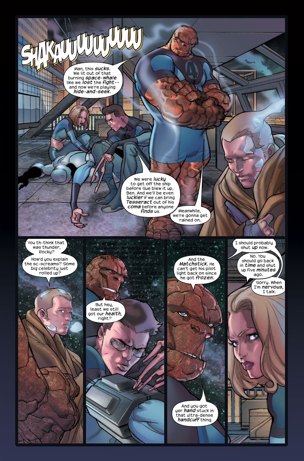Read online Ultimate Fantastic Four (2004) comic -  Issue #36 - 5