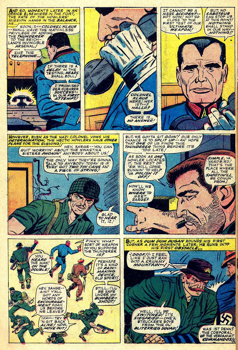 Read online Sgt. Fury comic -  Issue #39 - 10