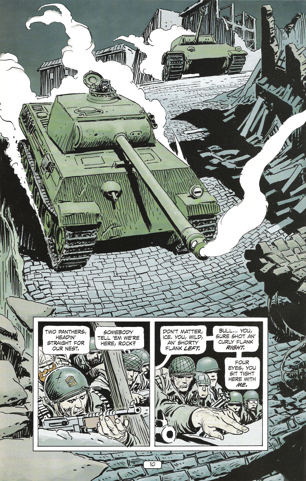 Read online Sgt. Rock: The Prophecy comic -  Issue #1 - 12