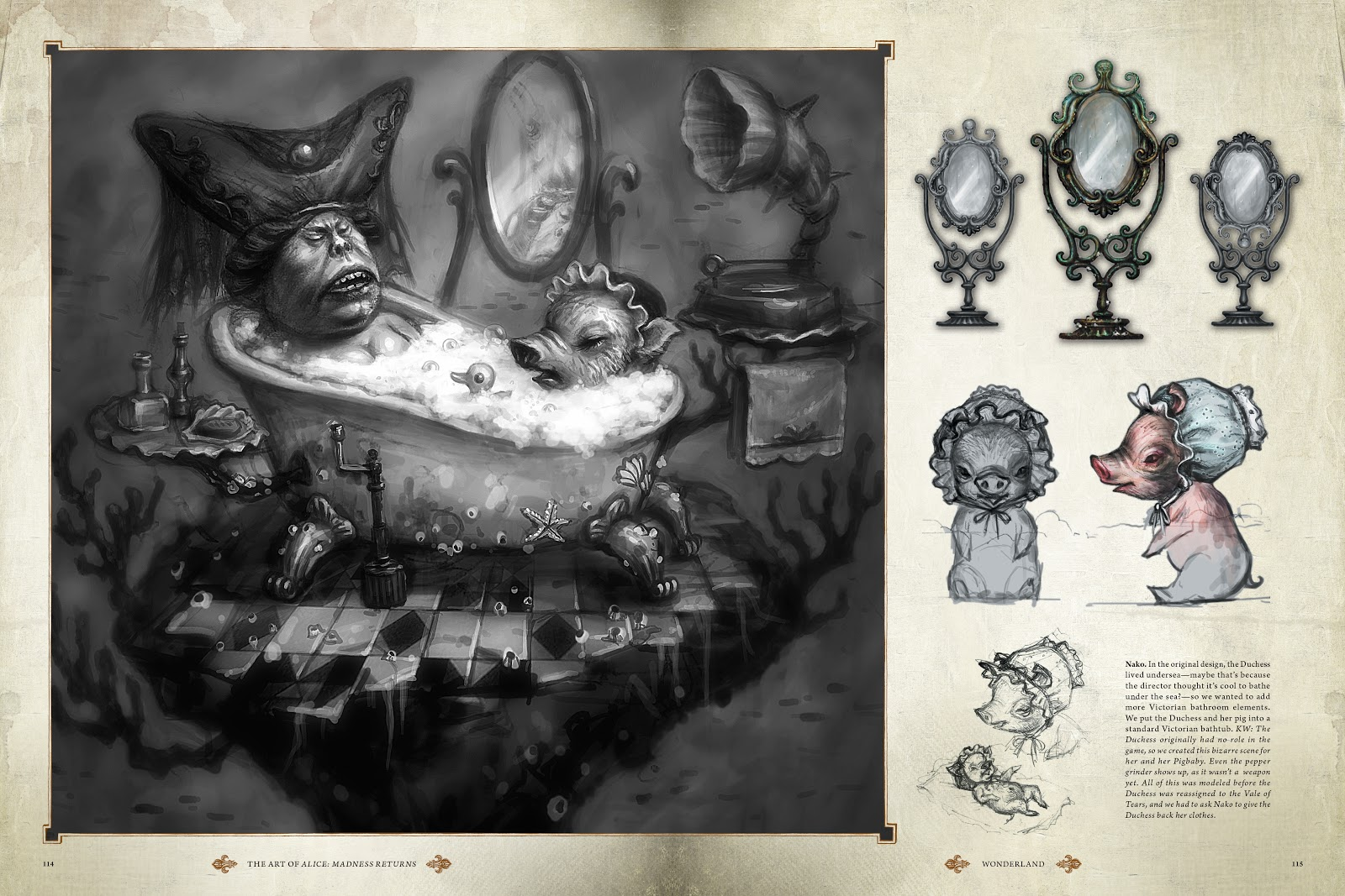 Read online The Art of Alice: Madness Returns comic -  Issue # TPB (Part 2) - 13