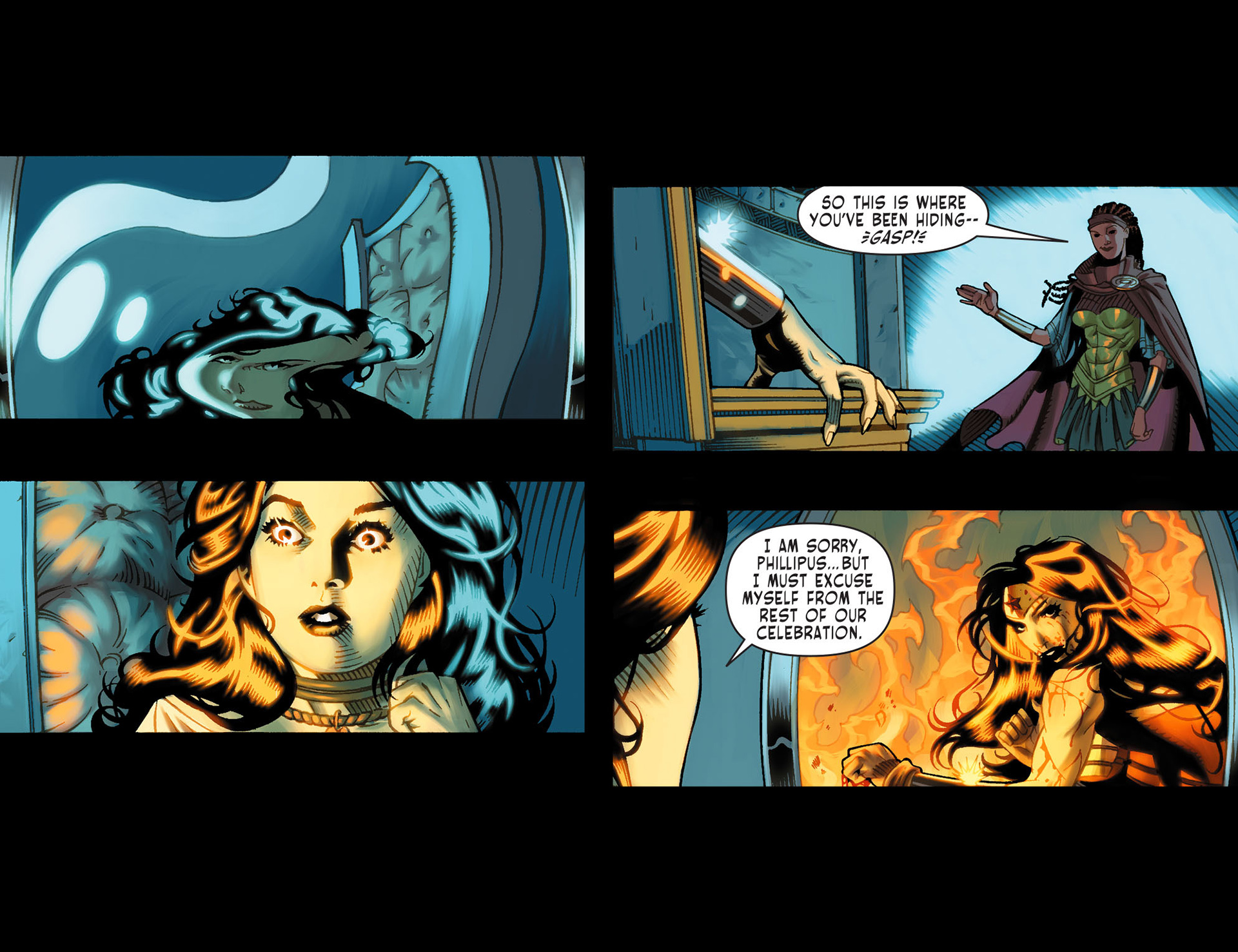 Read online Sensation Comics Featuring Wonder Woman comic -  Issue #13 - 4