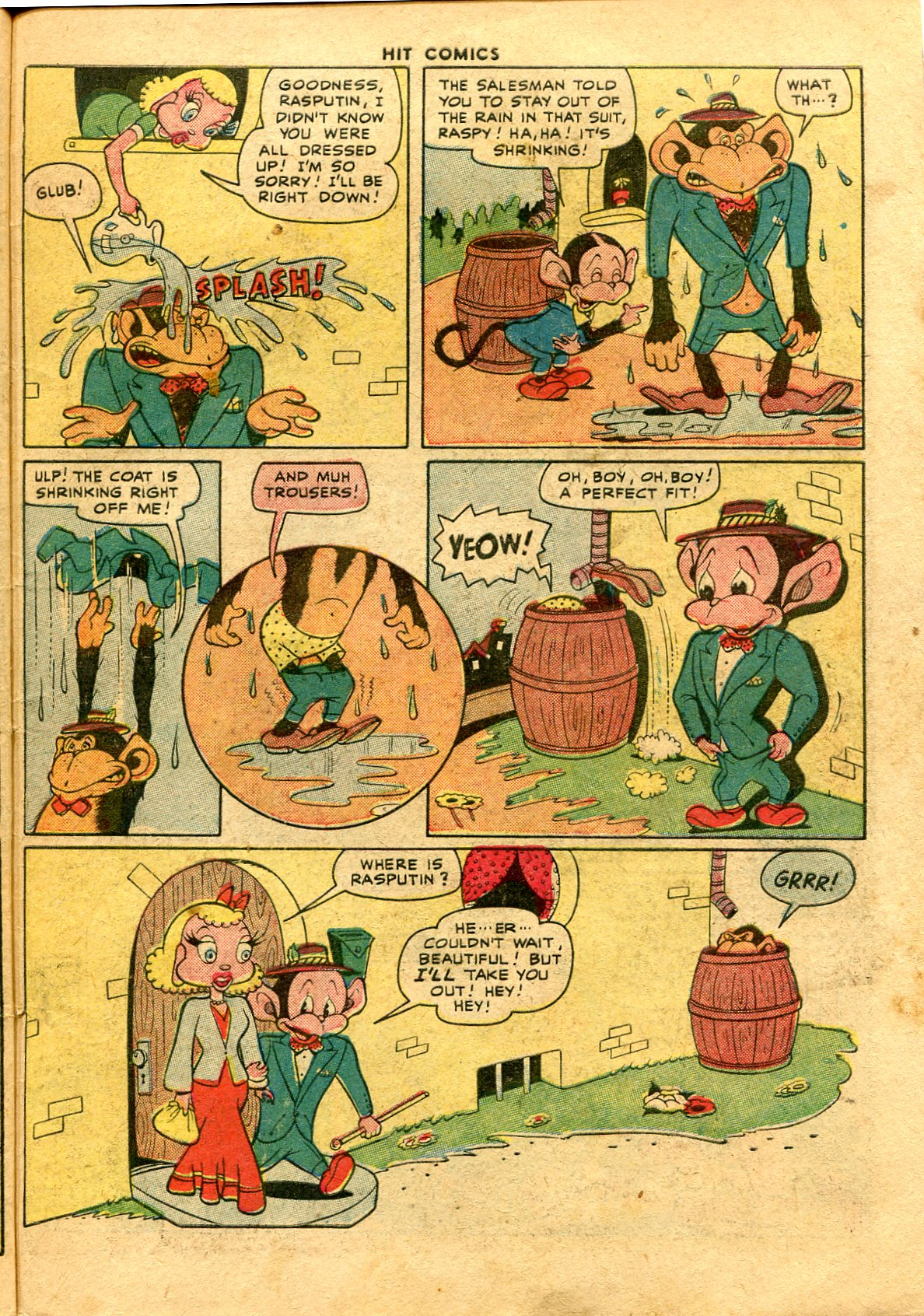 Read online Hit Comics comic -  Issue #48 - 49