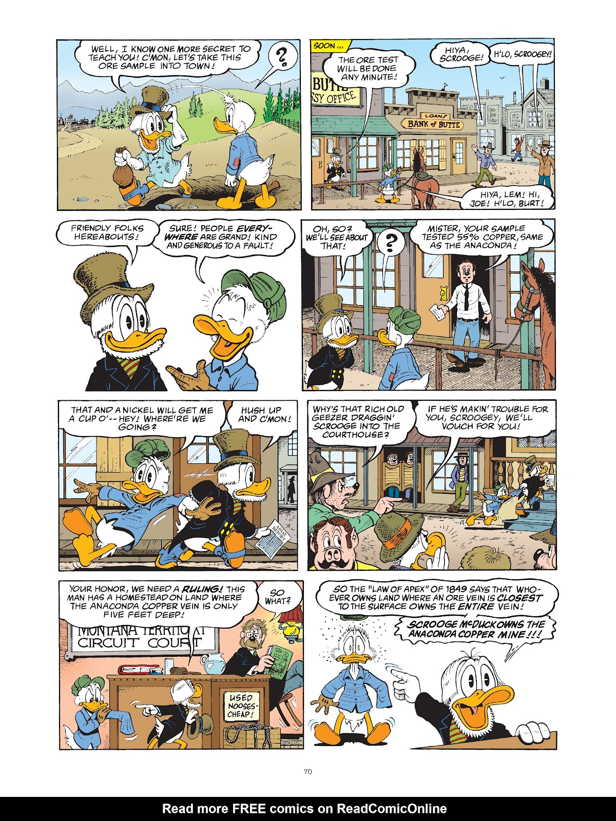 Read online The Complete Life and Times of Scrooge McDuck comic -  Issue # TPB 1 (Part 1) - 74