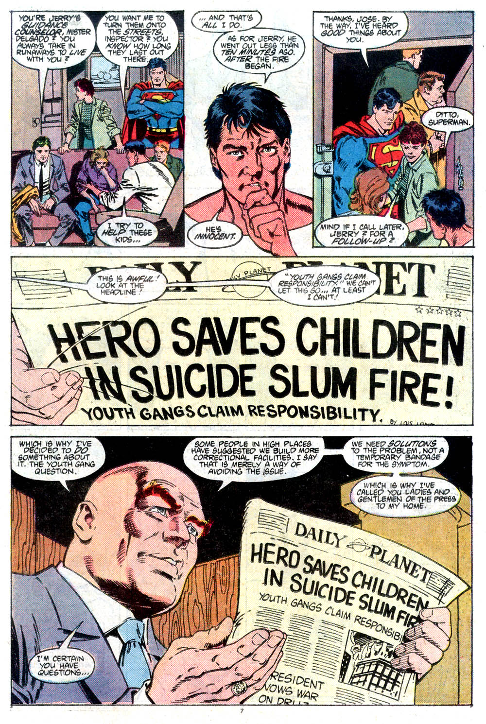 Read online Adventures of Superman (1987) comic -  Issue #432 - 8
