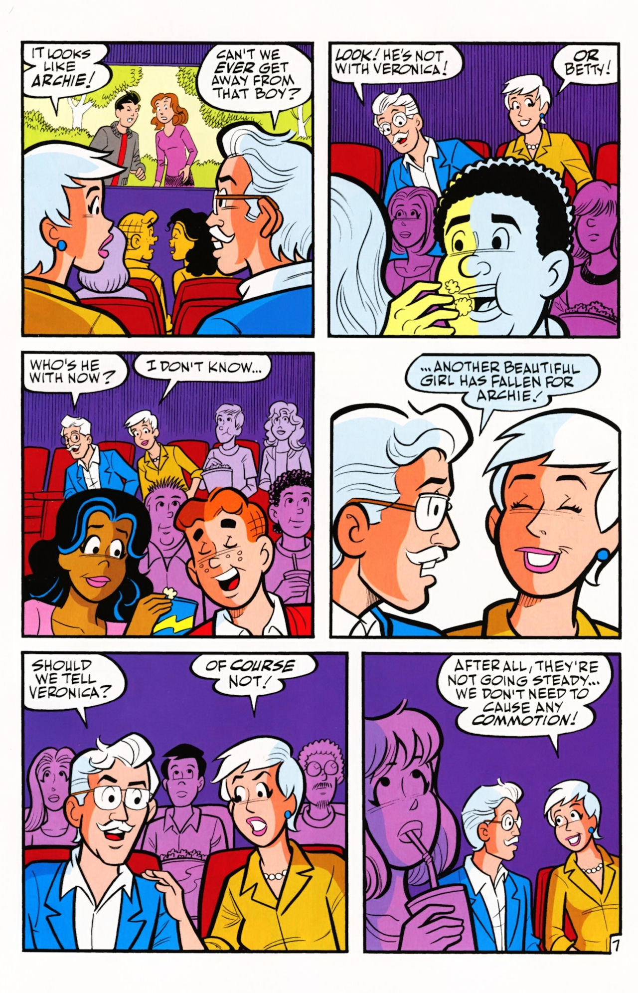 Read online Archie (1960) comic -  Issue #609 - 11