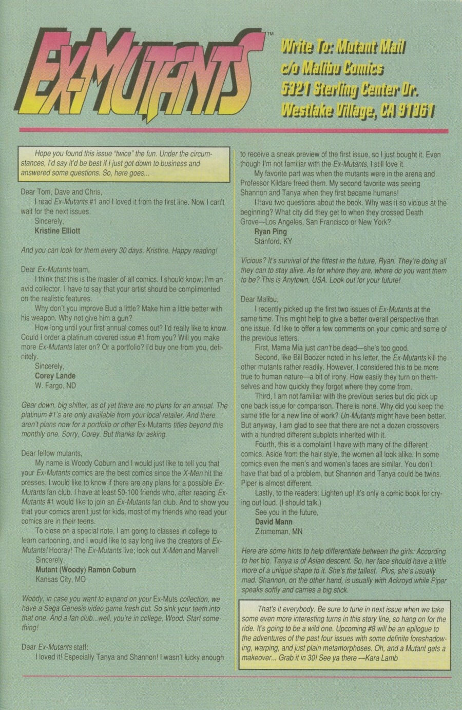 Ex-Mutants Issue #7 #7 - English 30
