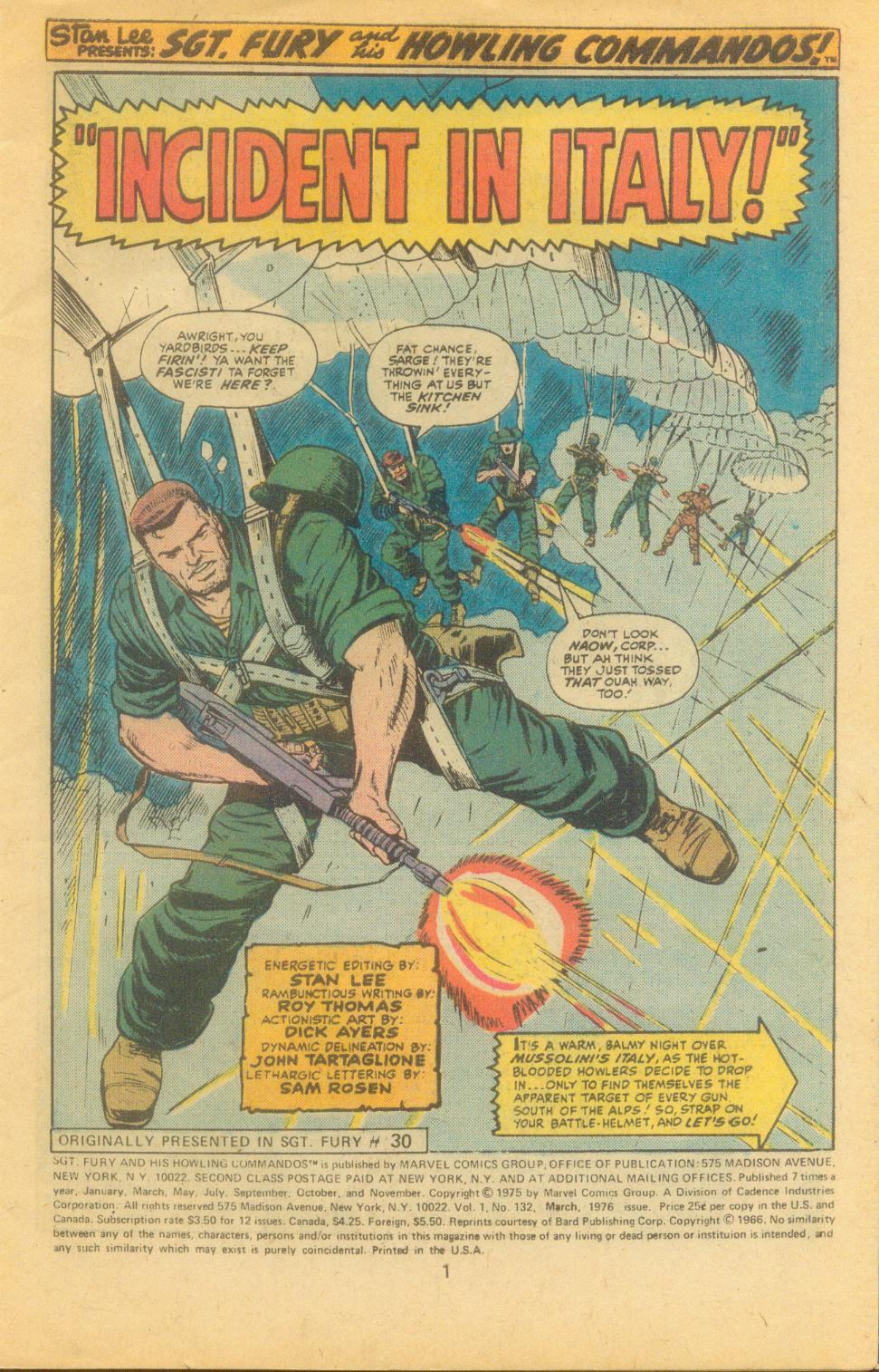 Read online Sgt. Fury comic -  Issue #132 - 3